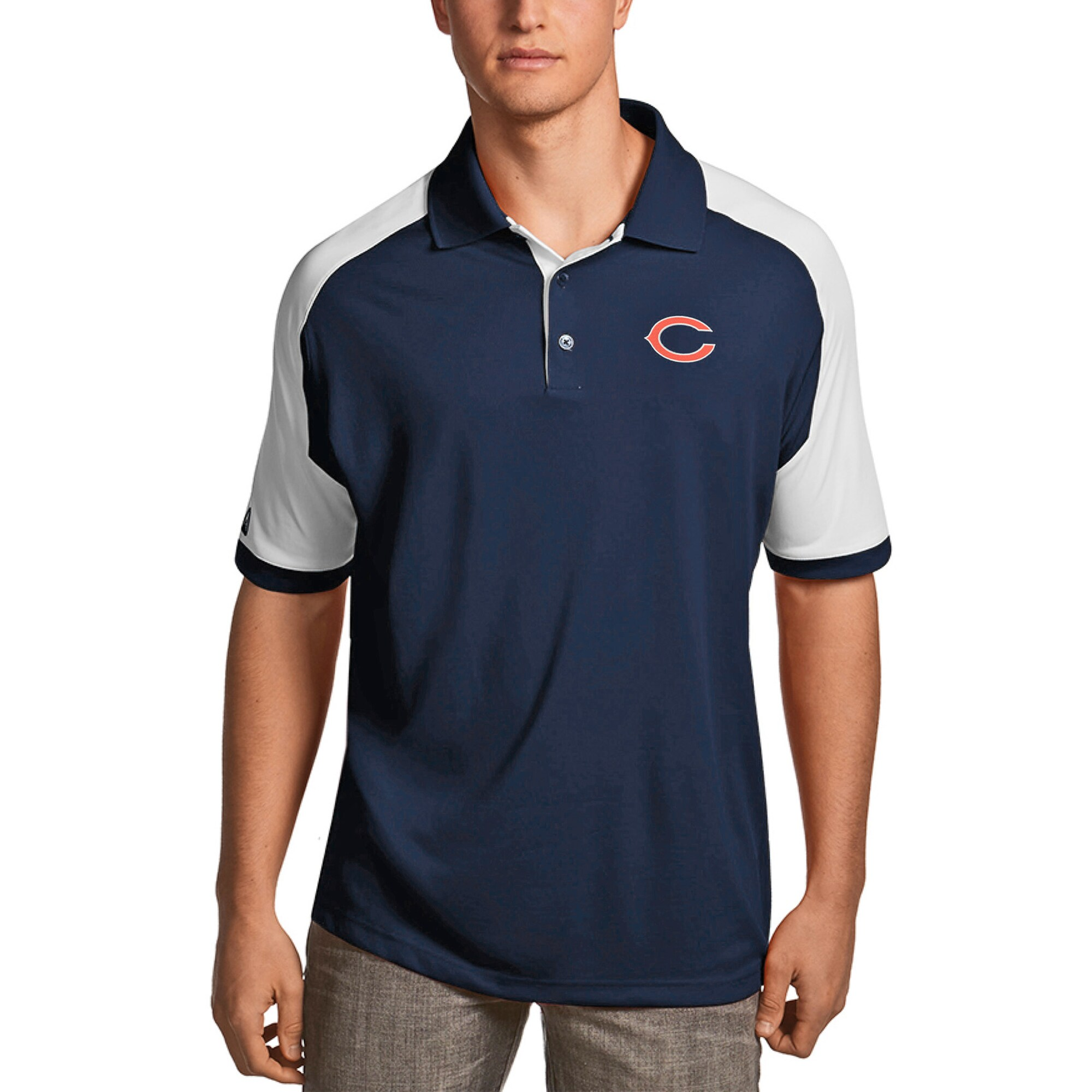 Chicago Bears Antigua Century Polo - Navy
