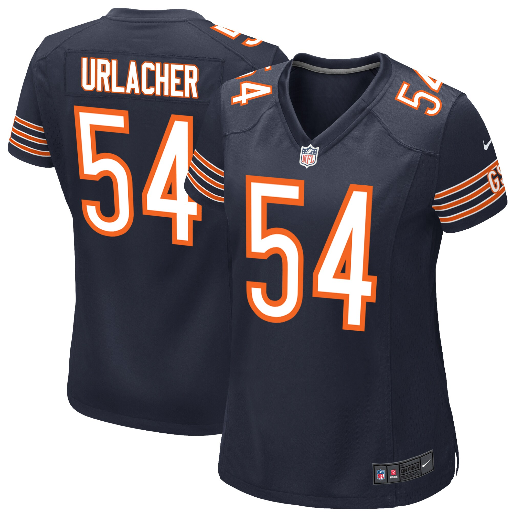 Brian Urlacher Chicago Bears Nike Women's Game Jersey - Navy Blue