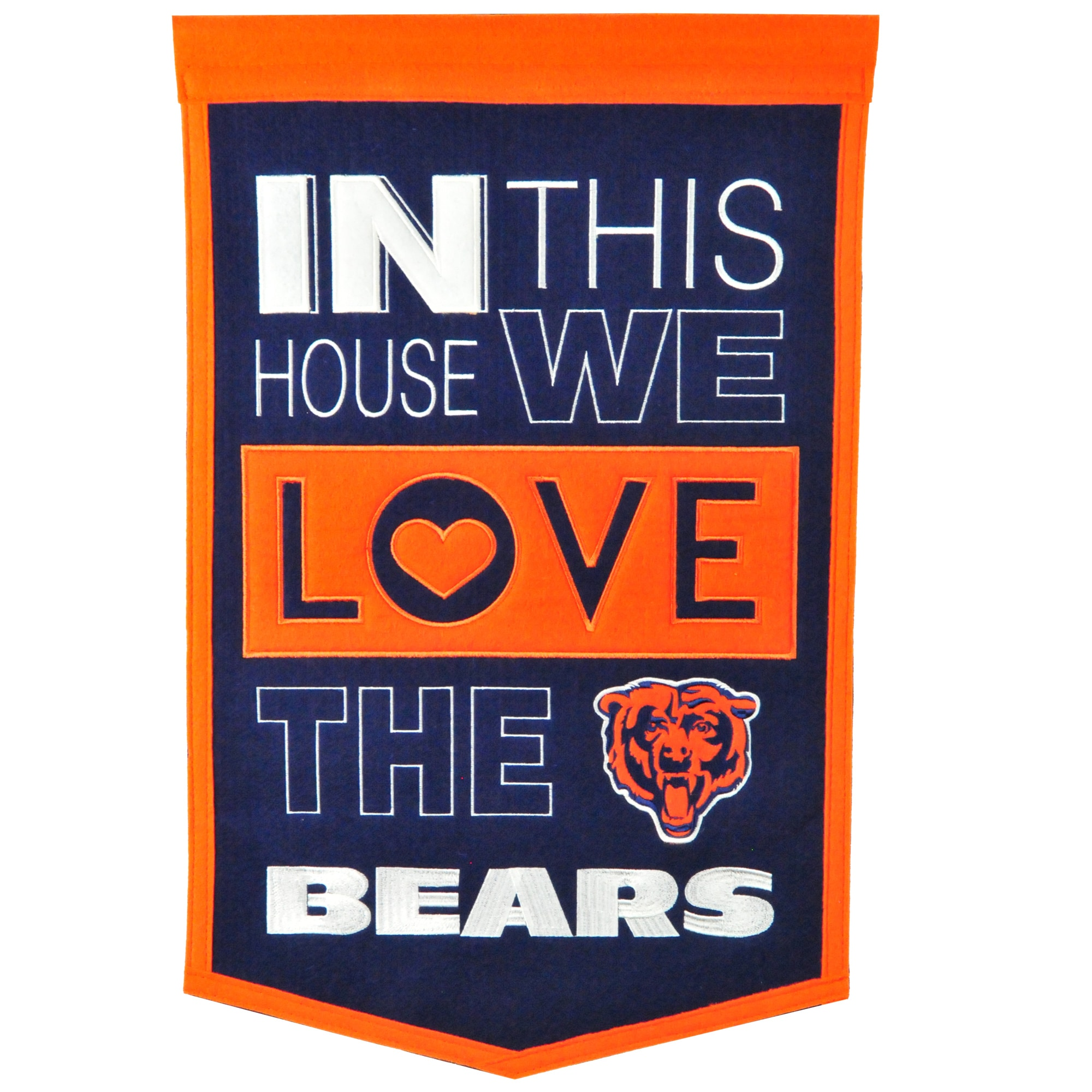 Chicago Bears 15'' x 24'' Home Banner