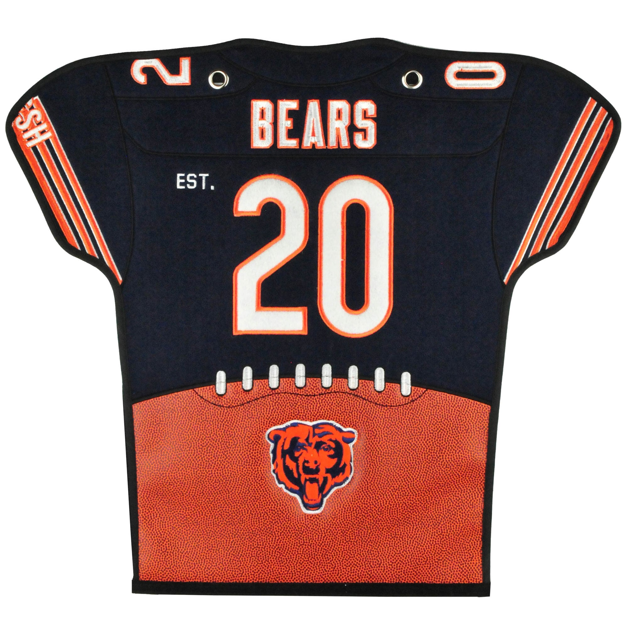 Chicago Bears 20'' x 18'' Jersey Traditions Banner