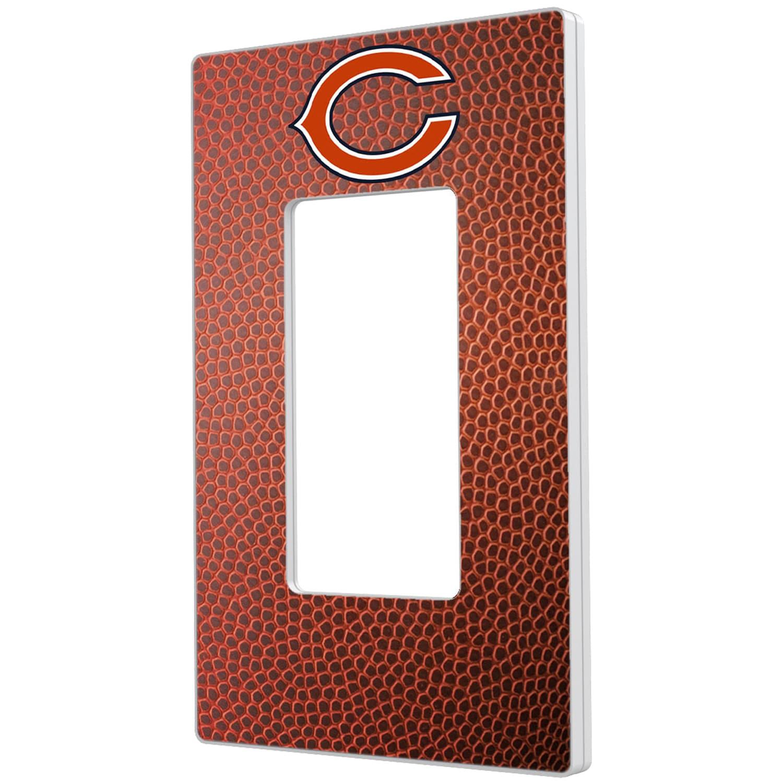 Chicago Bears Football Design Single Rocker Light Switch Plate