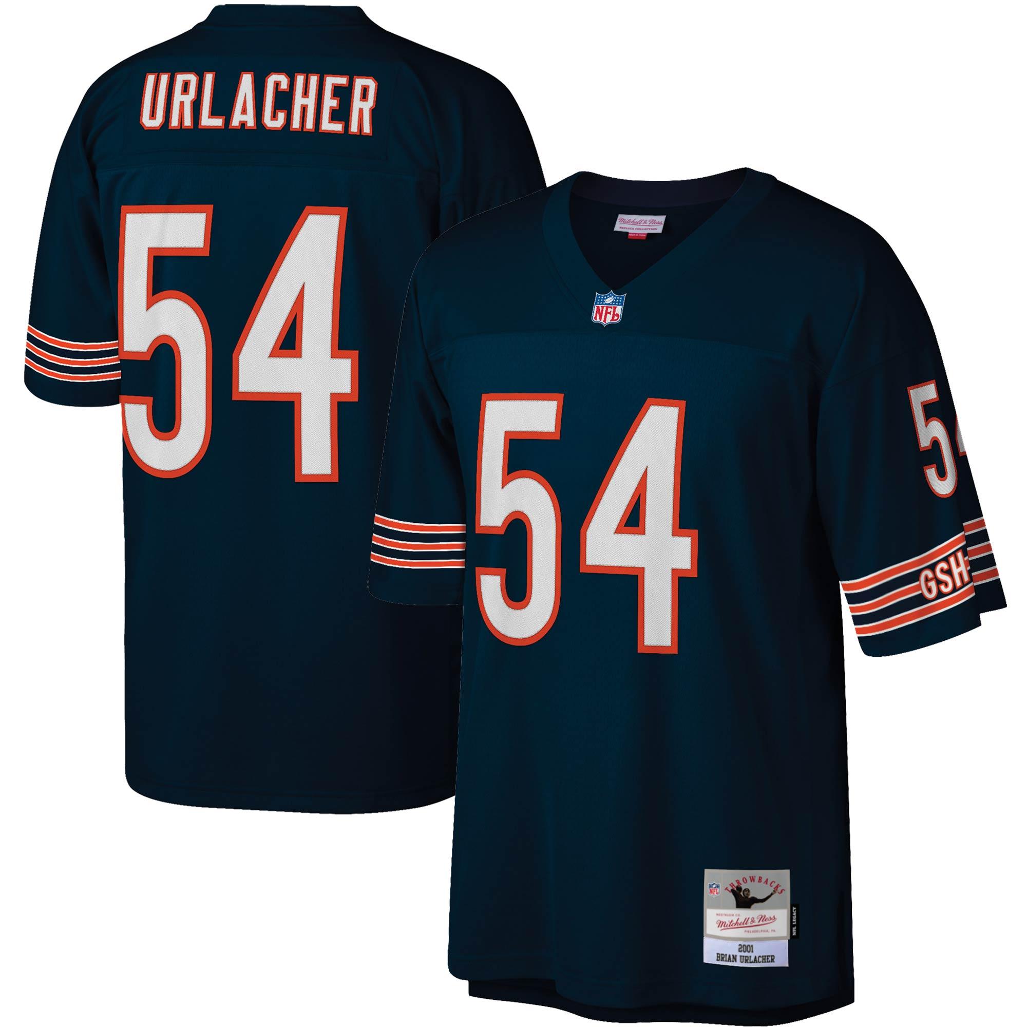Brian Urlacher Chicago Bears Mitchell & Ness Legacy Replica Jersey - Navy