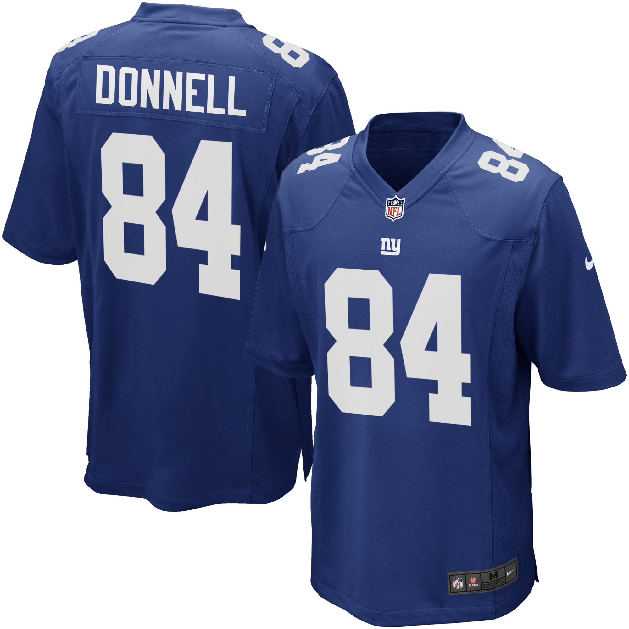 Larry Donnell New York Giants Youth Nike Team Color Game Jersey - Royal Blue