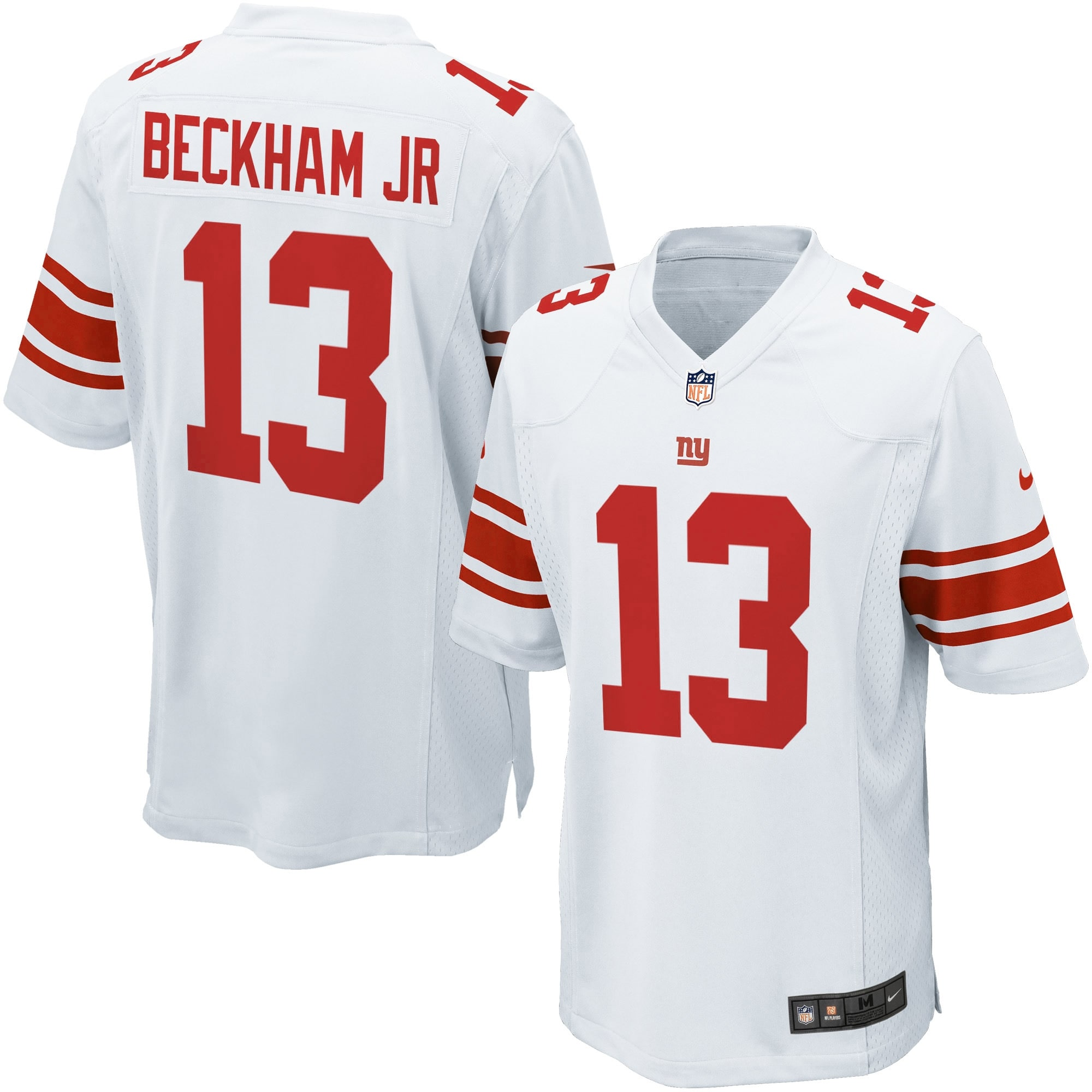 Odell Beckham Jr. New York Giants Nike Youth Game Jersey - White
