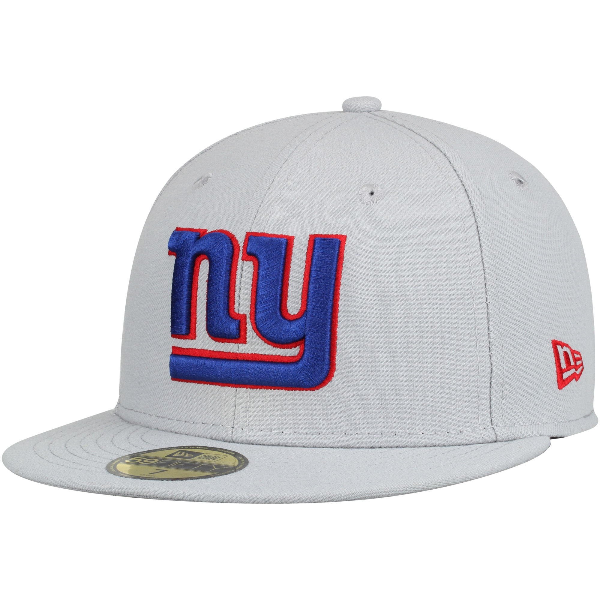 New York Giants New Era Omaha 59FIFTY Fitted Hat - Gray