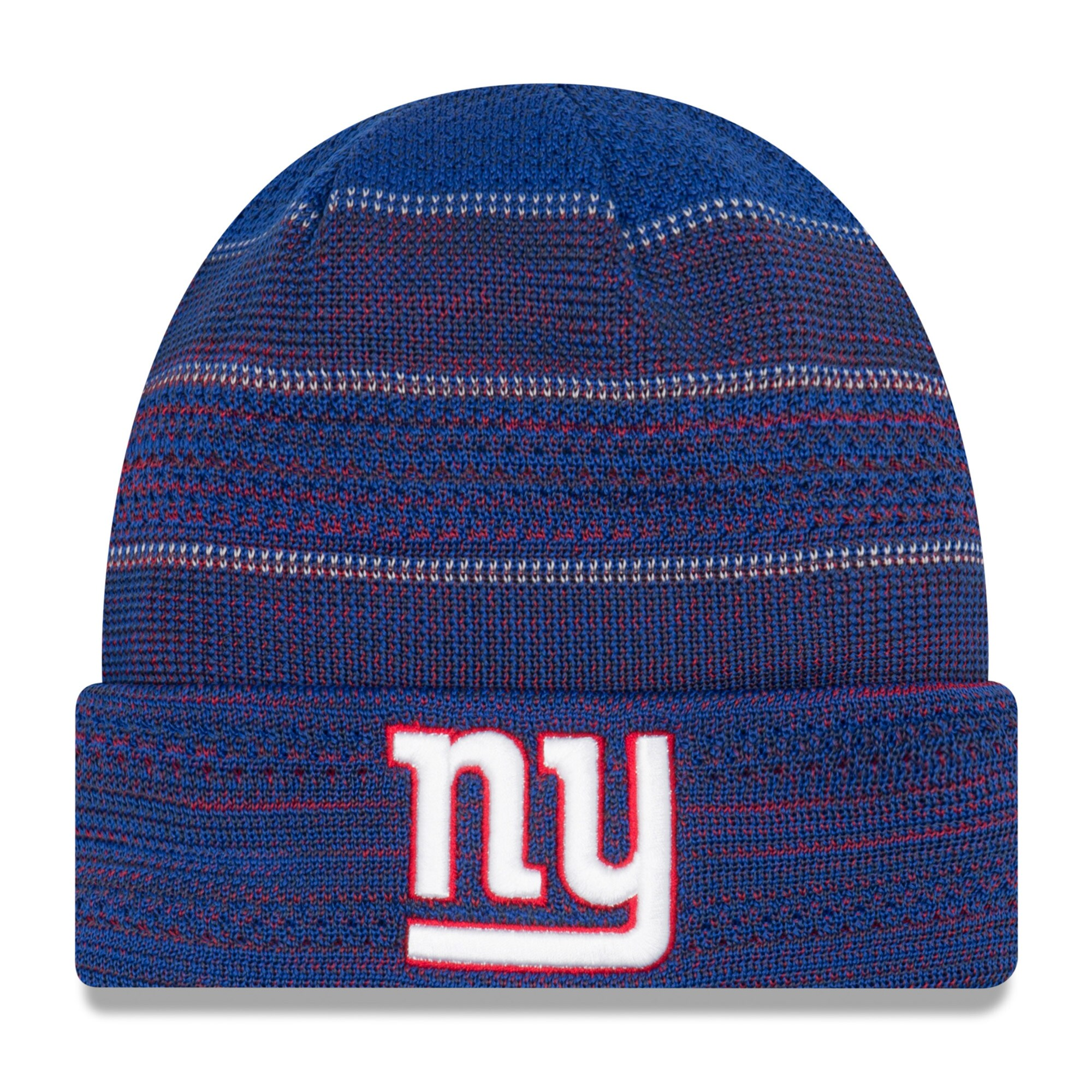 New York Giants New Era Youth 2017 Sideline Official TD Knit Hat - Royal