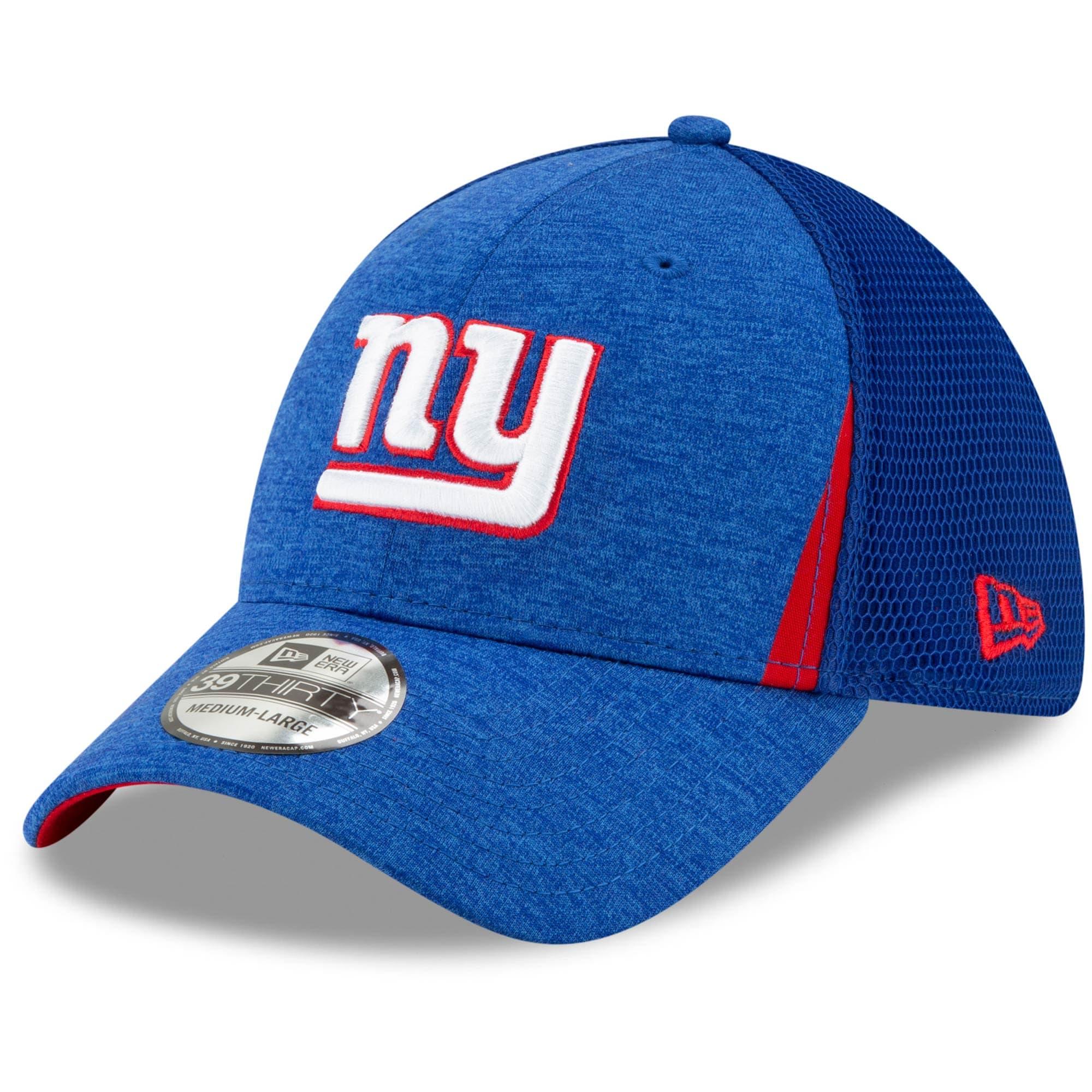 New York Giants New Era Slice Neo 39THIRTY Flex Hat - Royal