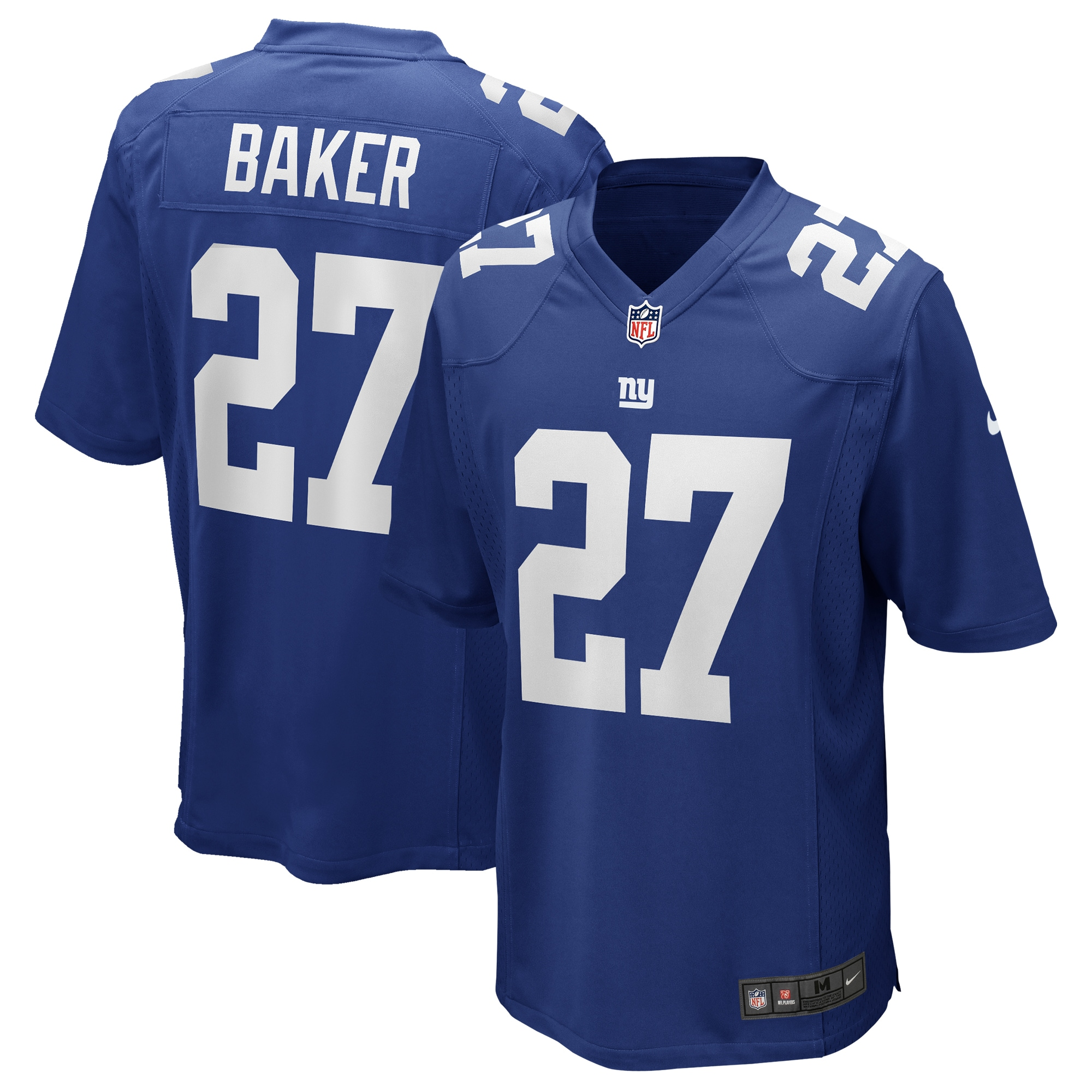 Deandre Baker New York Giants Nike Game Player Jersey - Royal