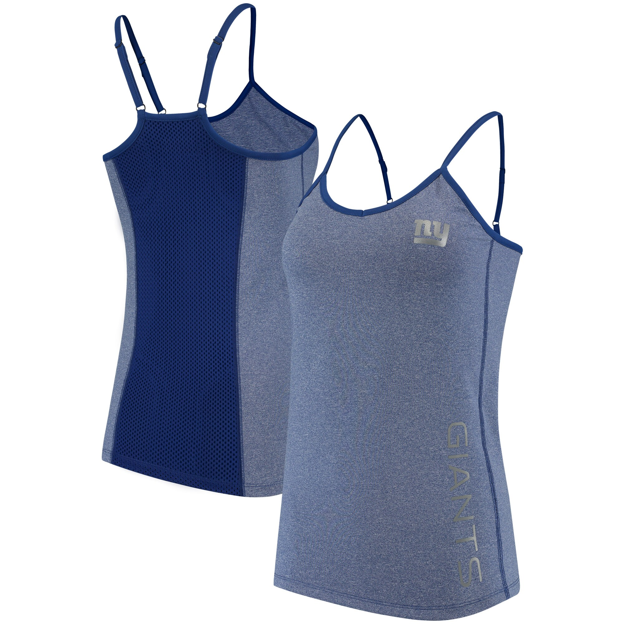 New York Giants G-III 4Her by Carl Banks Women's Full Count Tank Top - Royal