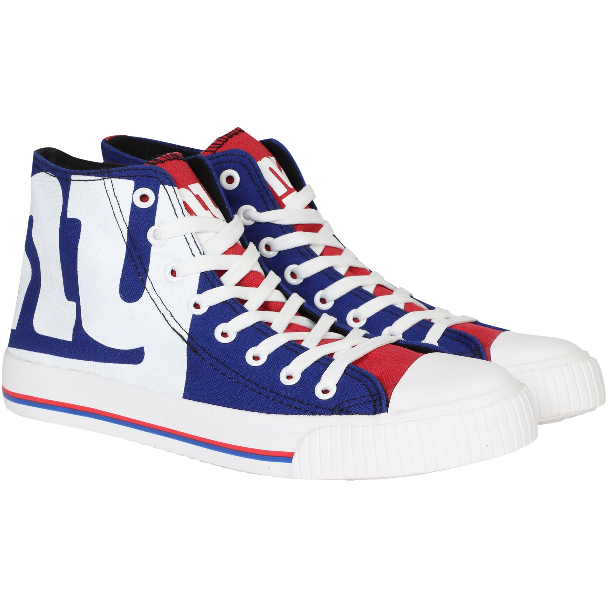 New York Giants Big Logo High Top Sneakers
