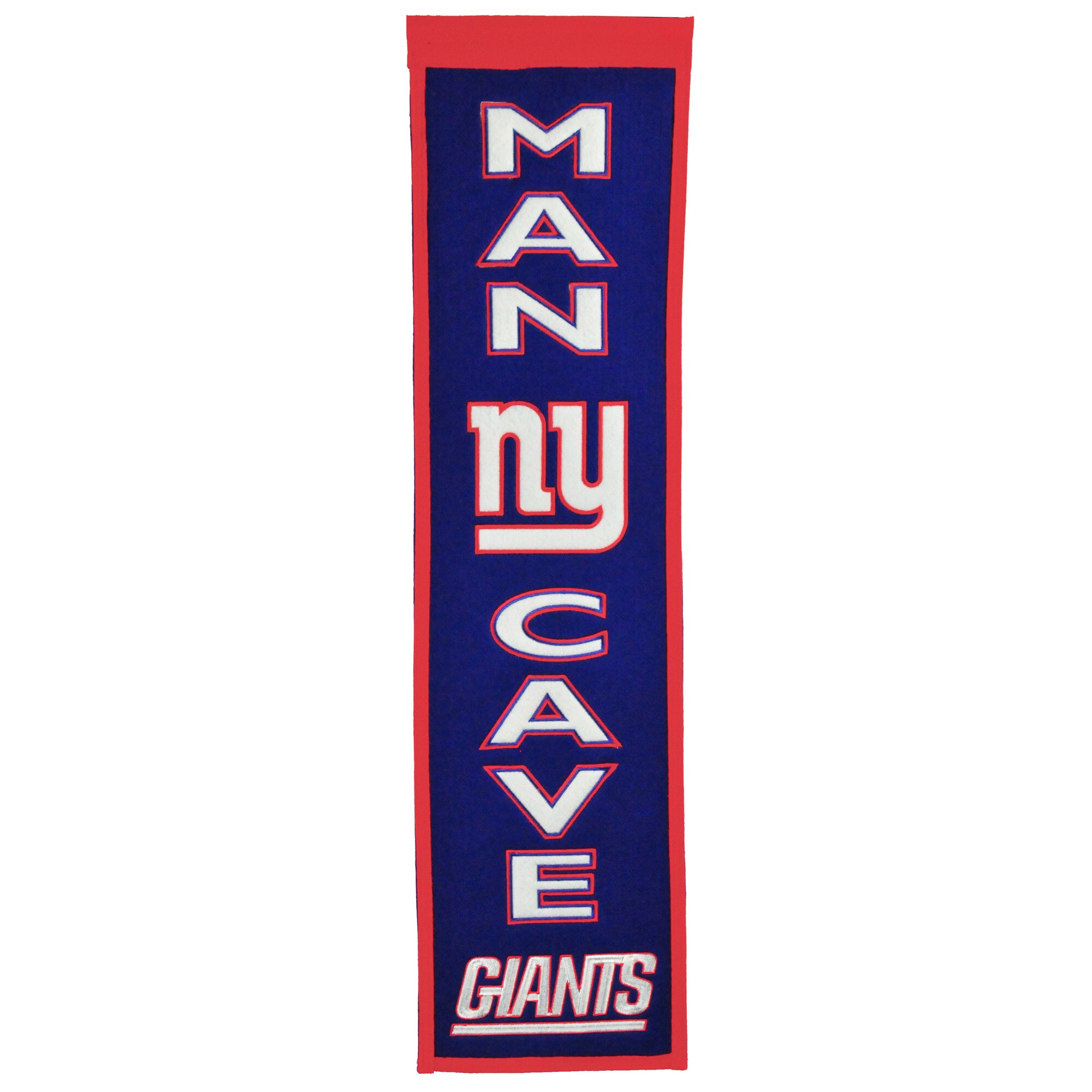 "New York Giants 8"" x 32"" Man Cave Banner"