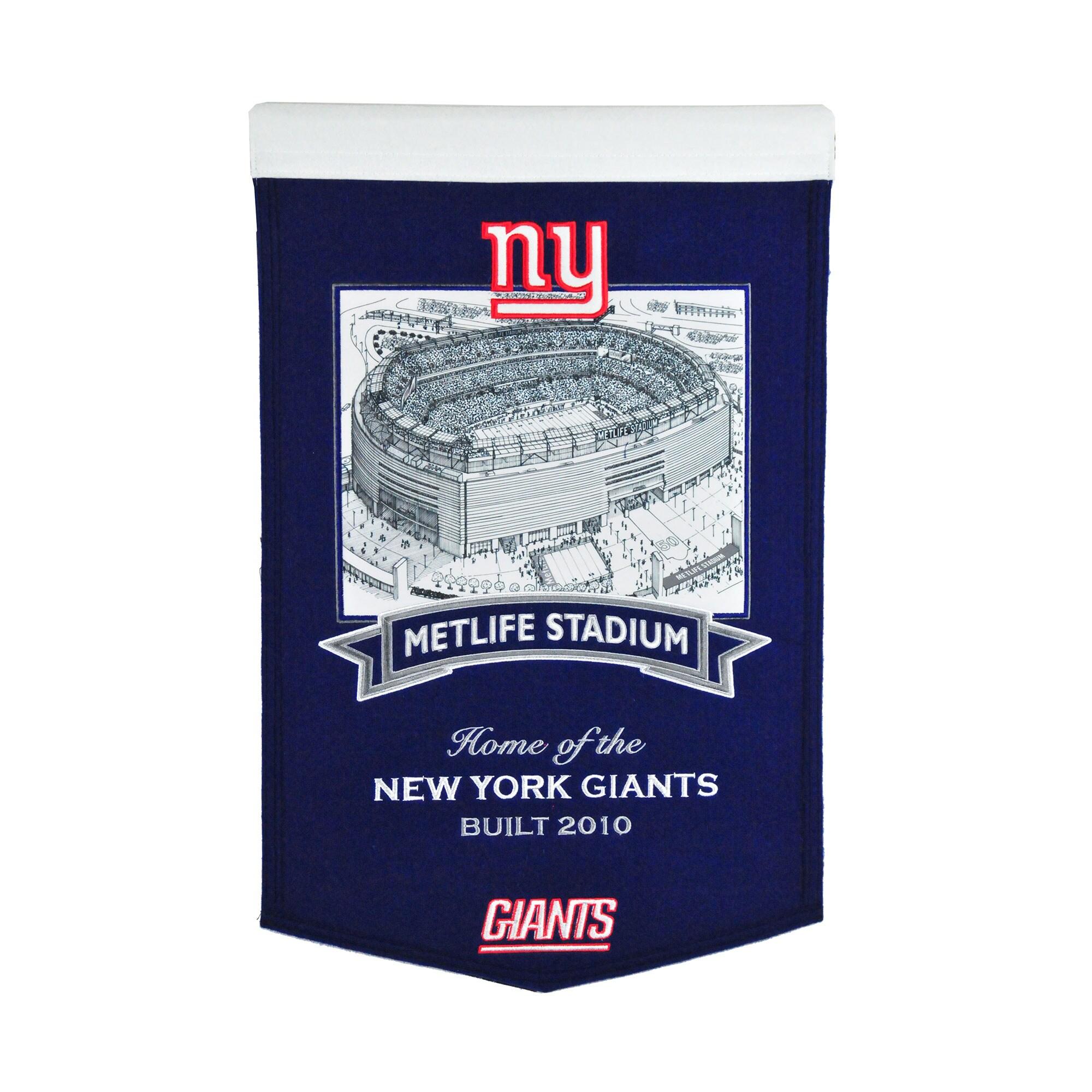 "New York Giants 15"" x 24"" Stadium Banner"