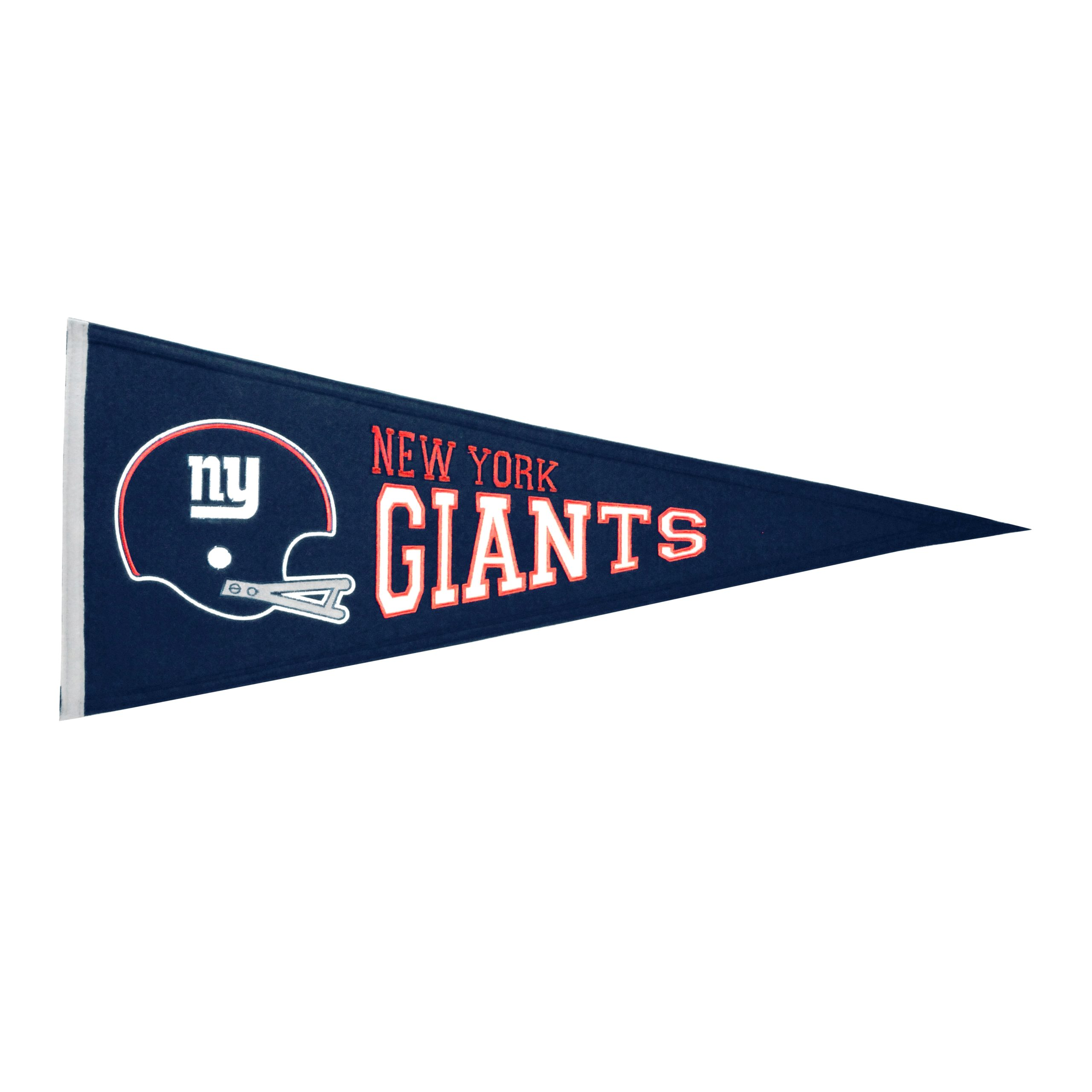 "New York Giants 13"" x 32"" Throwback Pennant"