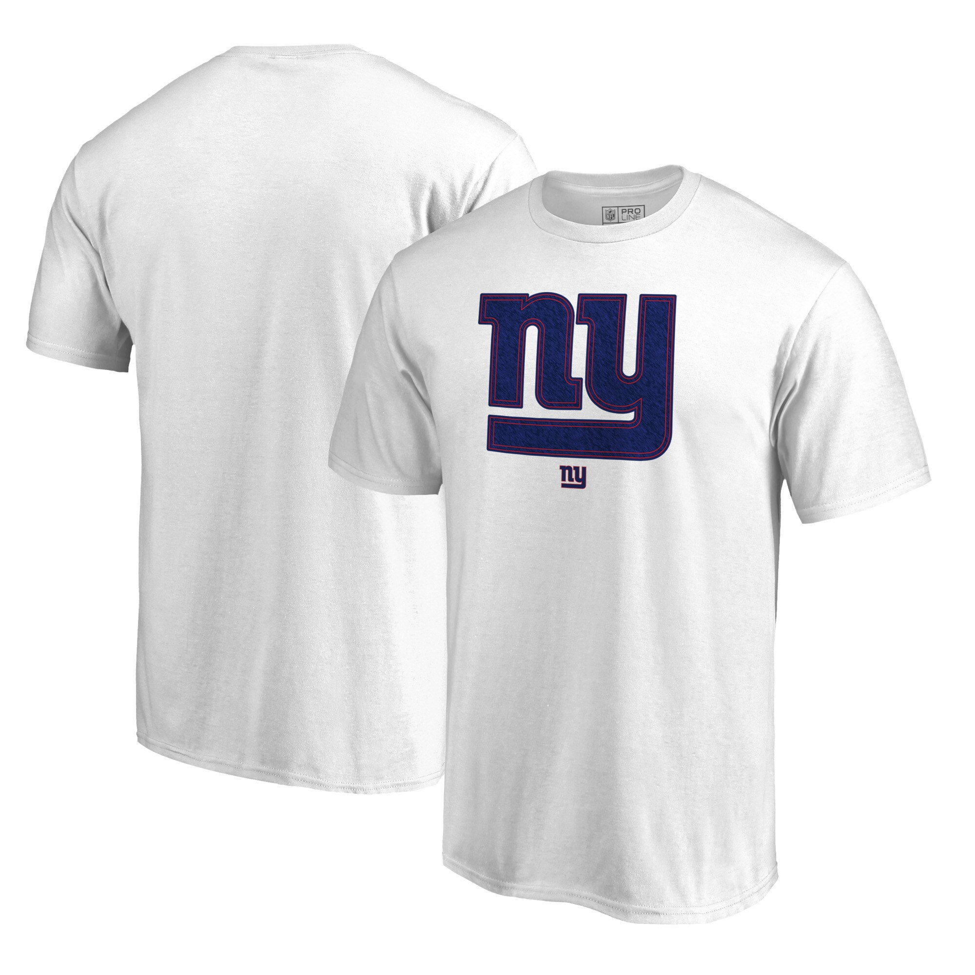 New York Giants NFL Pro Line by Fanatics Branded Training Camp Hookup T-Shirt - White