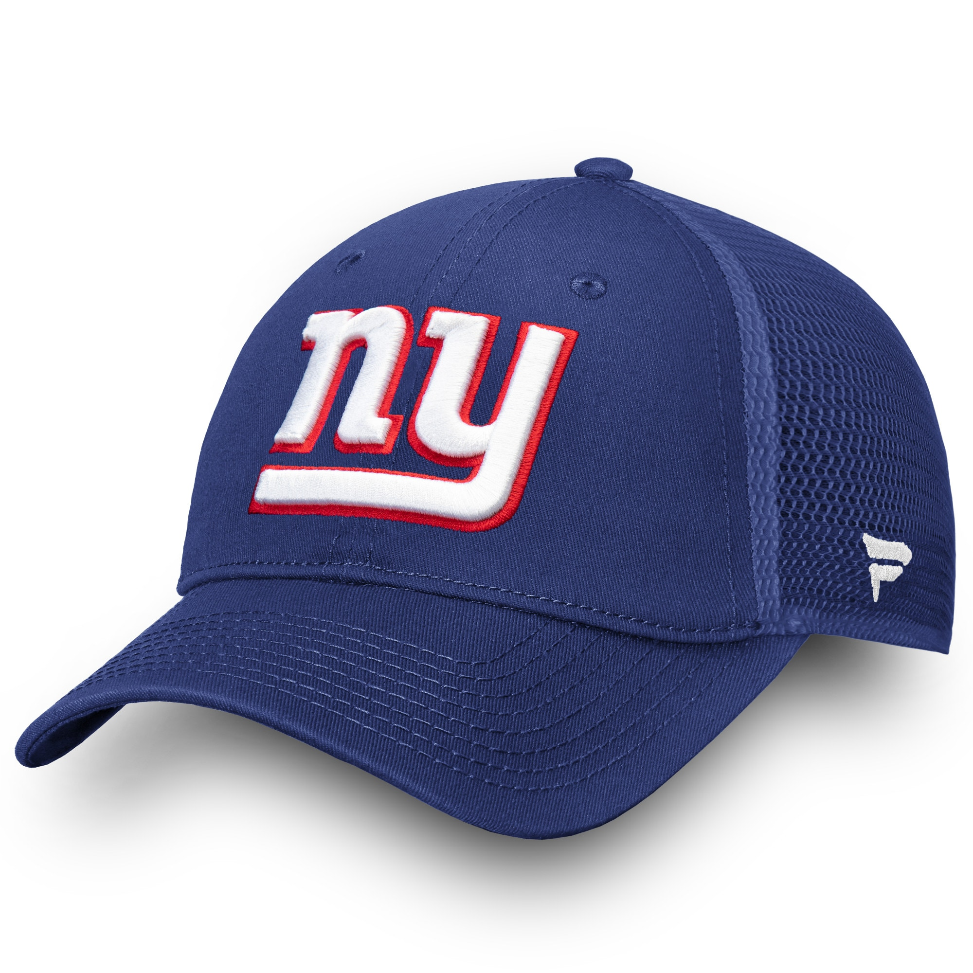 New York Giants NFL Pro Line by Fanatics Branded Elevated Core Trucker Adjustable Snapback Hat - Royal