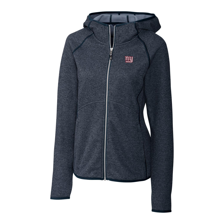 New York Giants Cutter & Buck Women's Mainsail Full-Zip Jacket - Blue