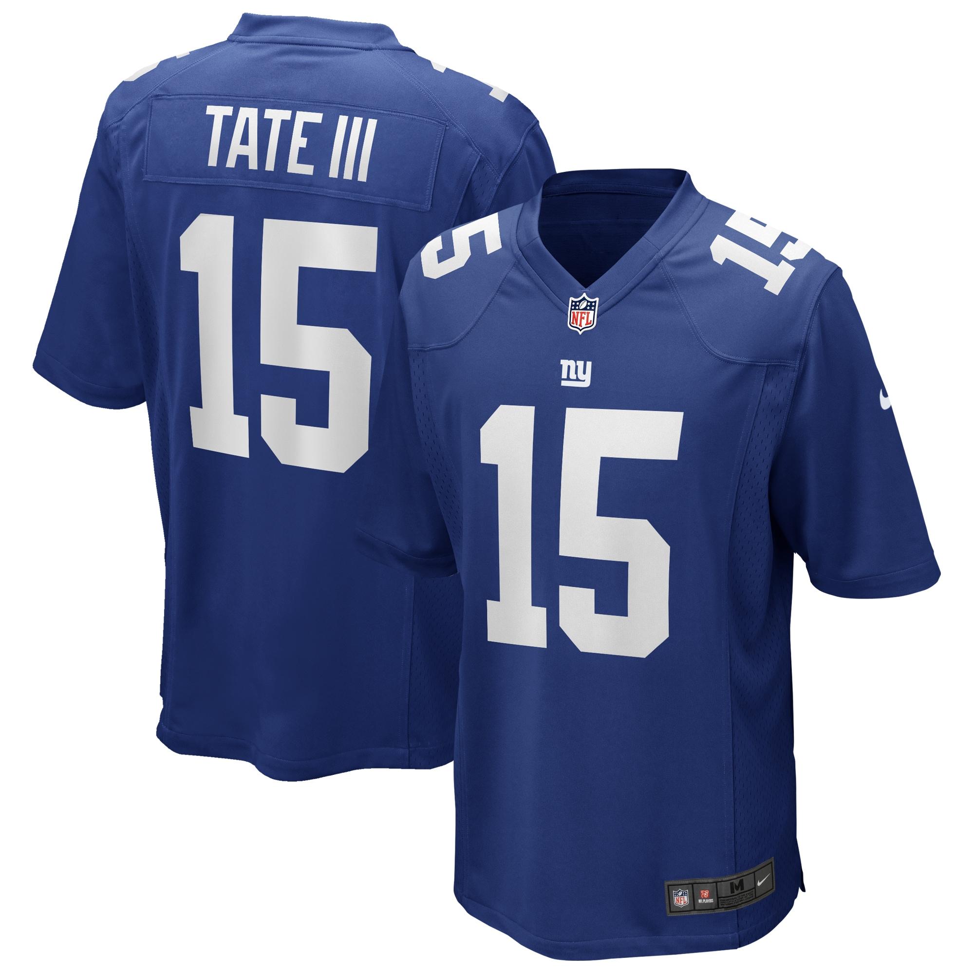 Golden Tate New York Giants Nike Game Jersey - Royal