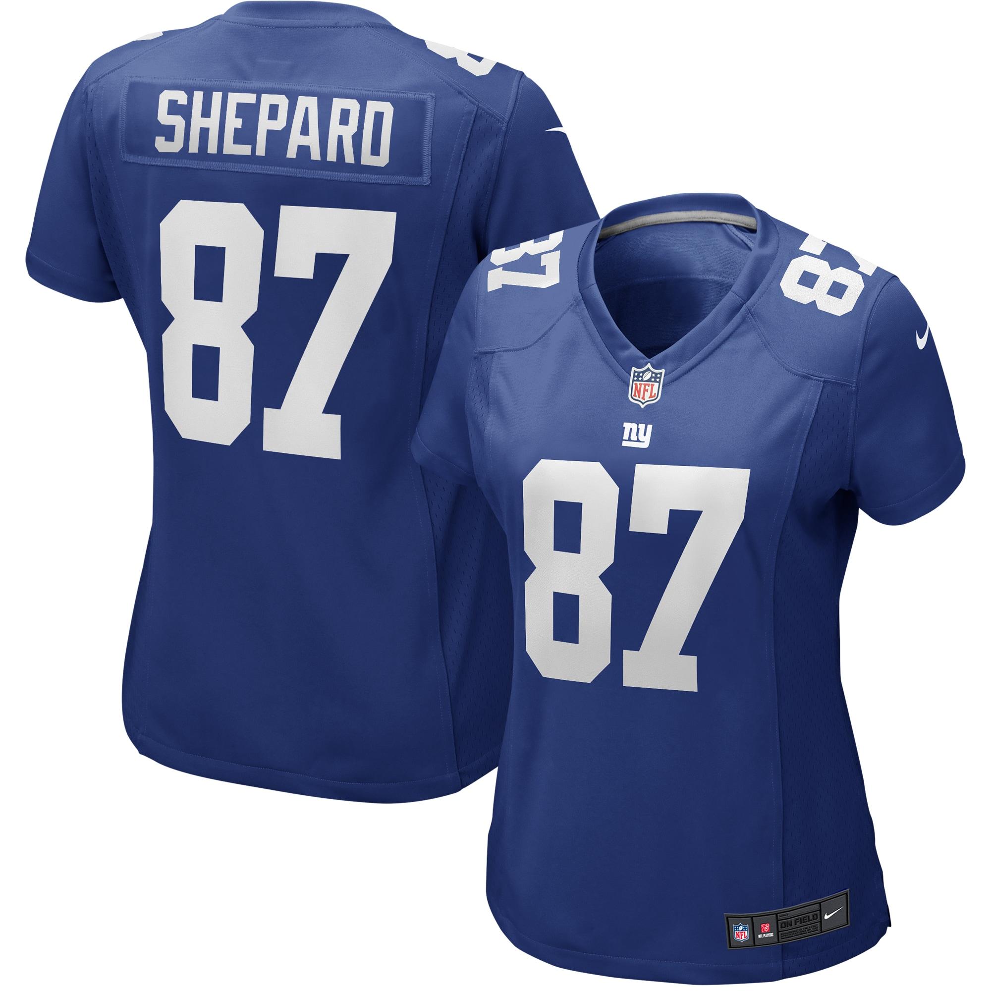 Sterling Shepard New York Giants Nike Women's Game Player Jersey - Royal