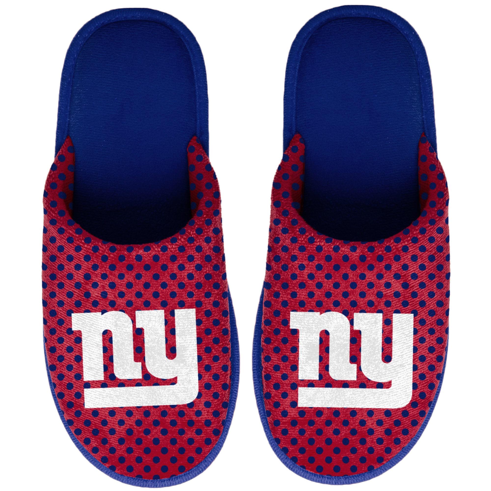 New York Giants Women's Big Logo Scuff Slippers