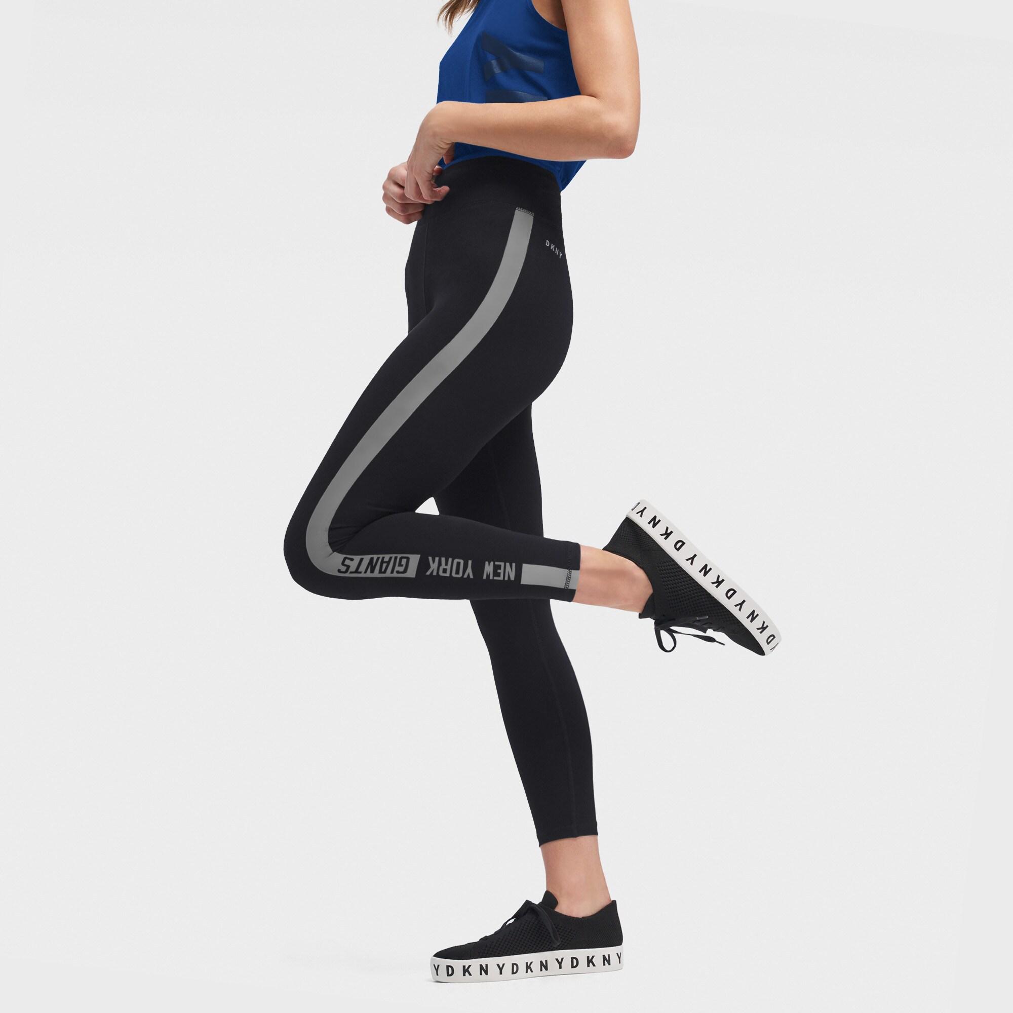New York Giants DKNY Sport Women's Carrie Leggings - Black