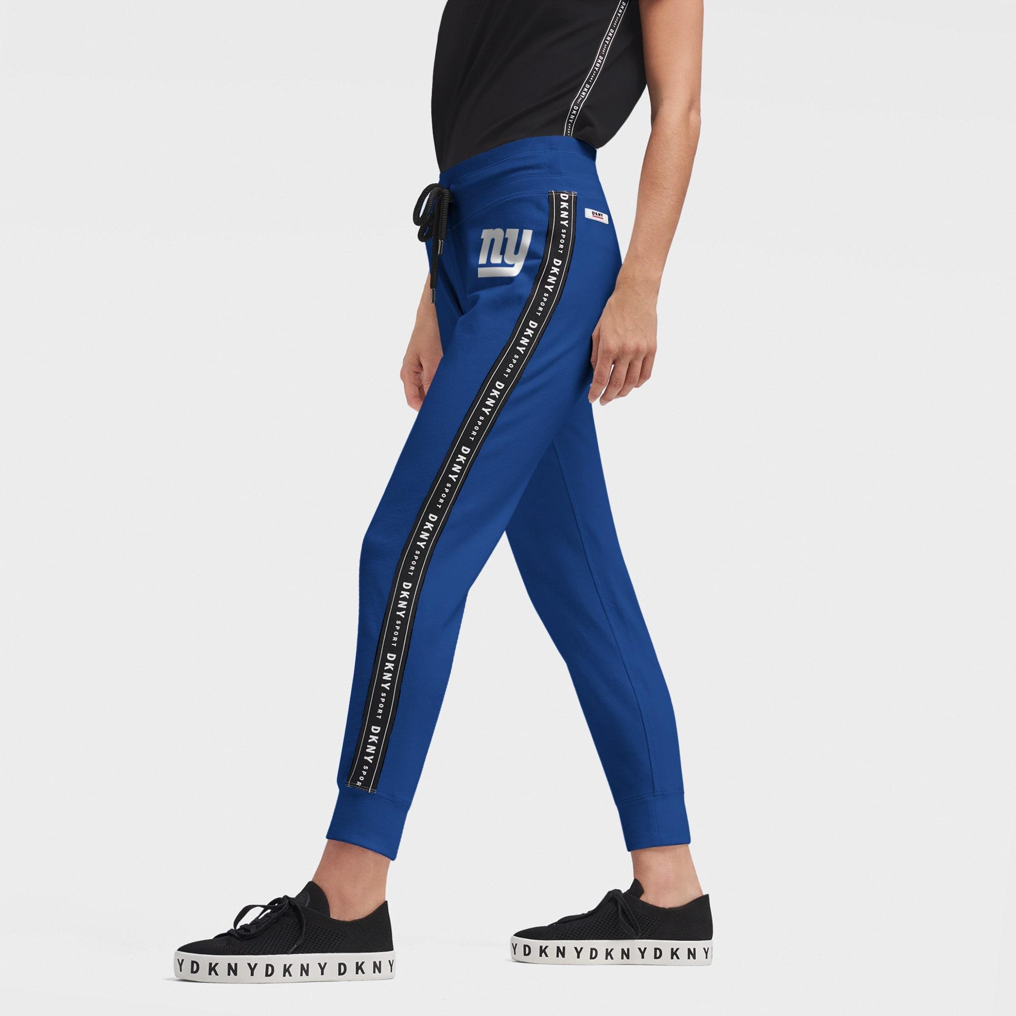 New York Giants DKNY Sport Women's Brooke Jogger Pants - Royal