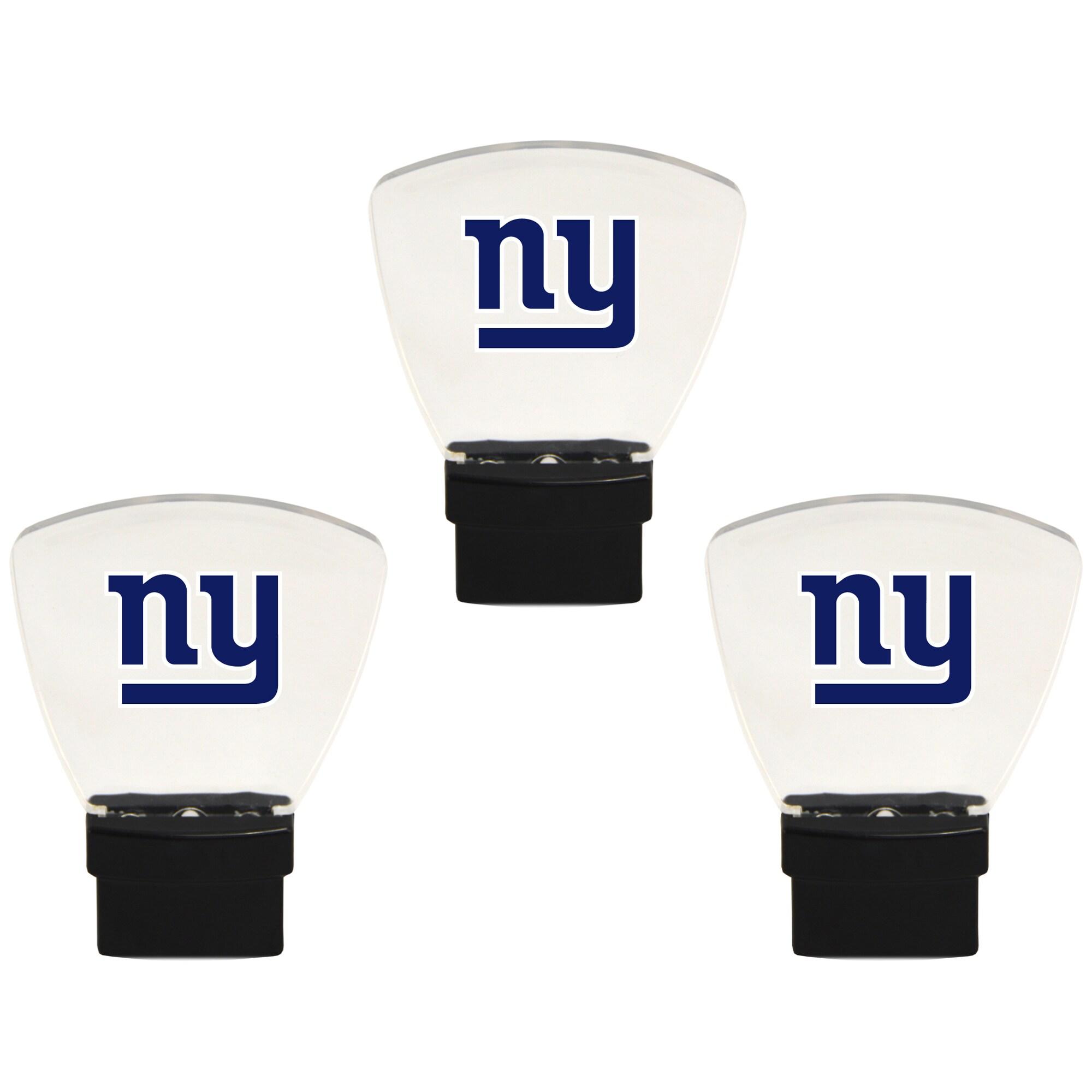 New York Giants 3-Pack Nightlight Bundle - Blue