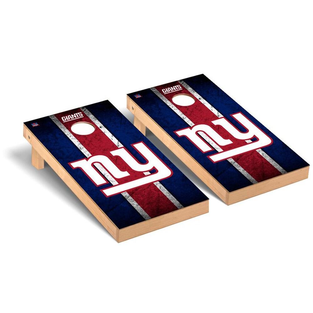 New York Giants 2' x 4' Vintage Regulation Cornhole Board Tailgate Toss Set