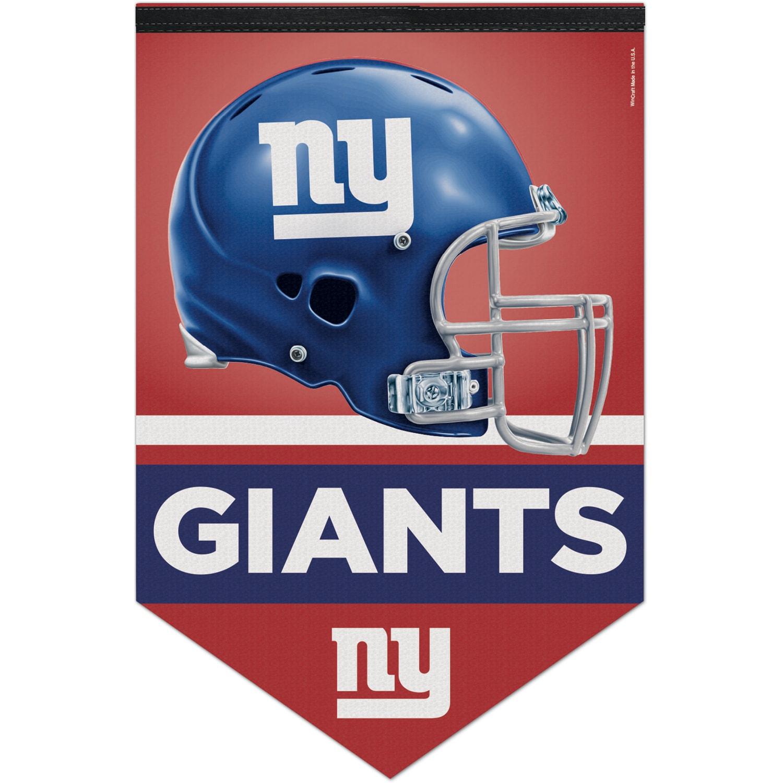 "New York Giants WinCraft 17"" x 26"" Premium Banner"