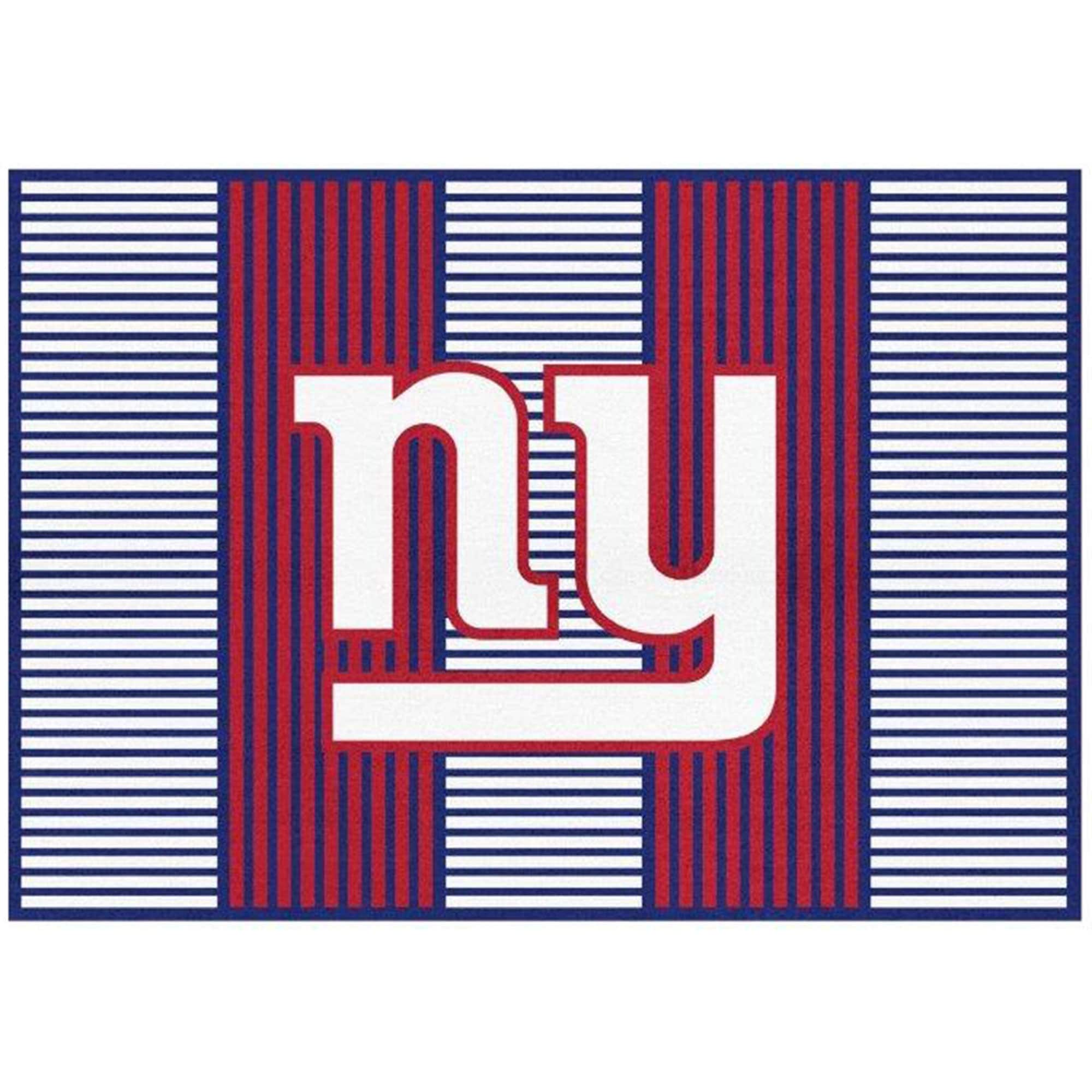 New York Giants Imperial 6' x 8' Champion Rug