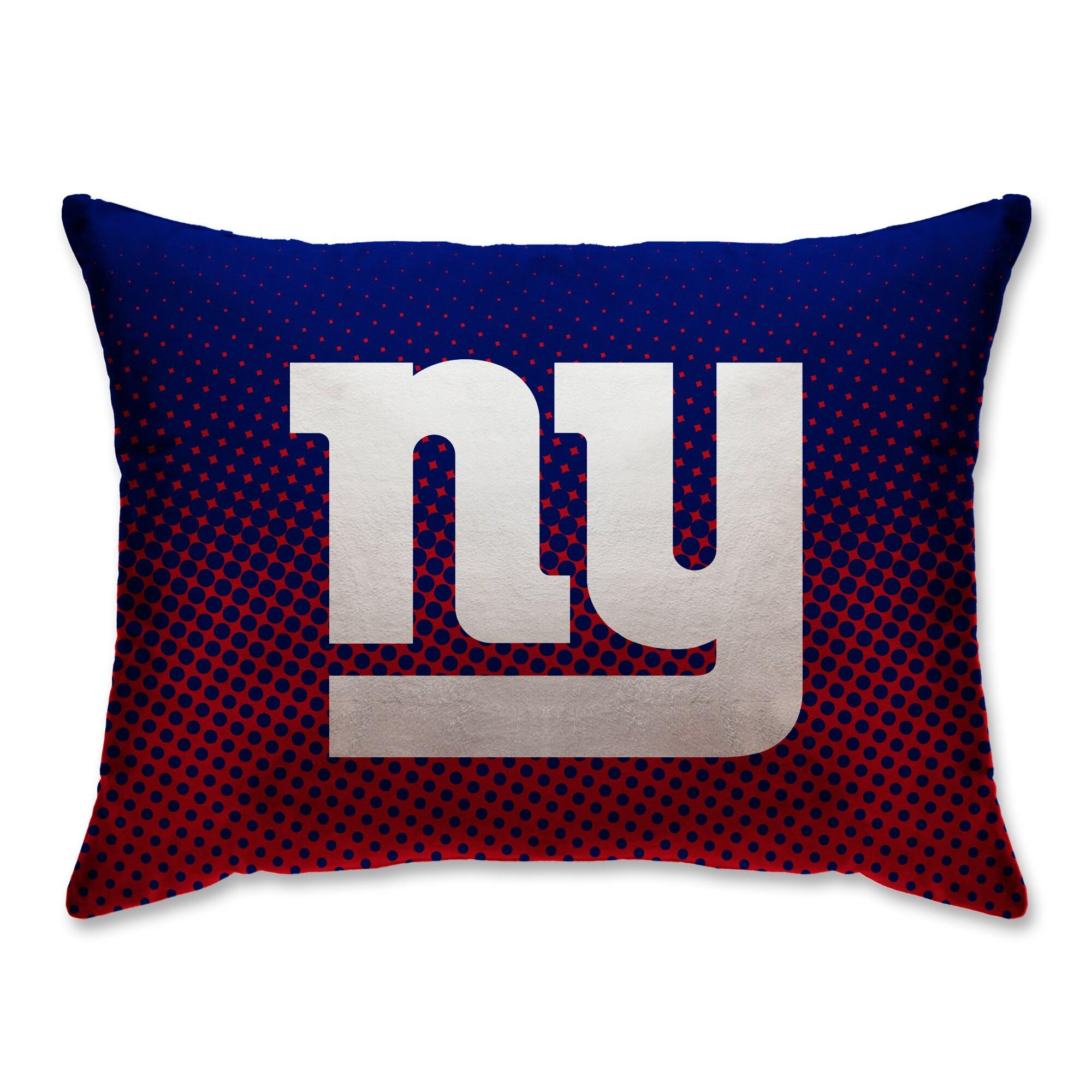 "New York Giants 20"" x 26"" Dot Decorative Bed Pillow"