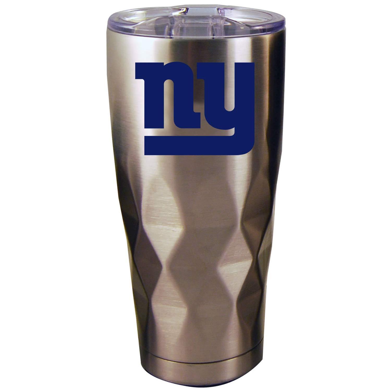 New York Giants 22oz. Diamond Bottom Stainless Steel Tumbler