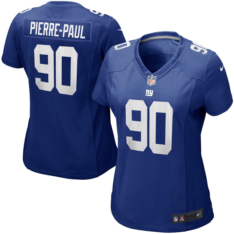 Jason Pierre-Paul New York Giants Nike Women's Limited Jersey - Blue