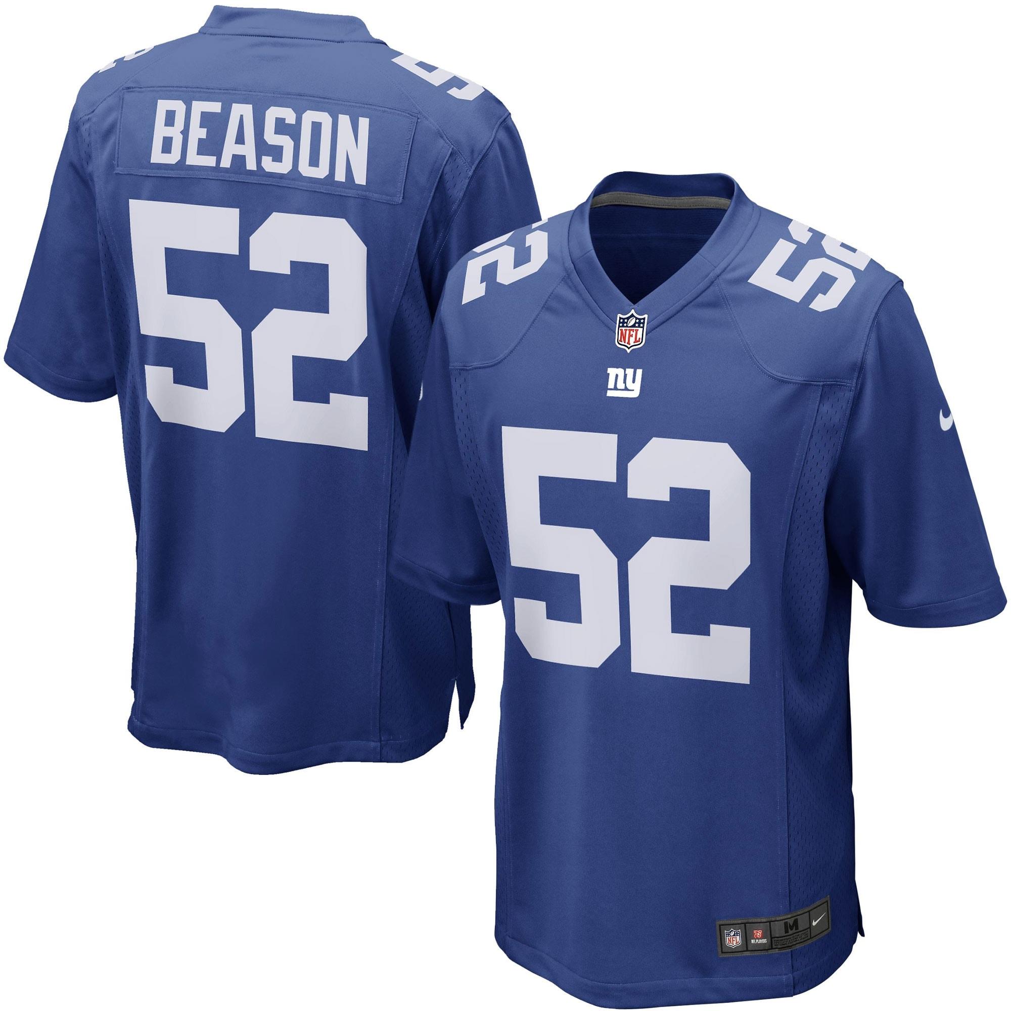 Jon Beason New York Giants Nike Game Jersey - Royal Blue