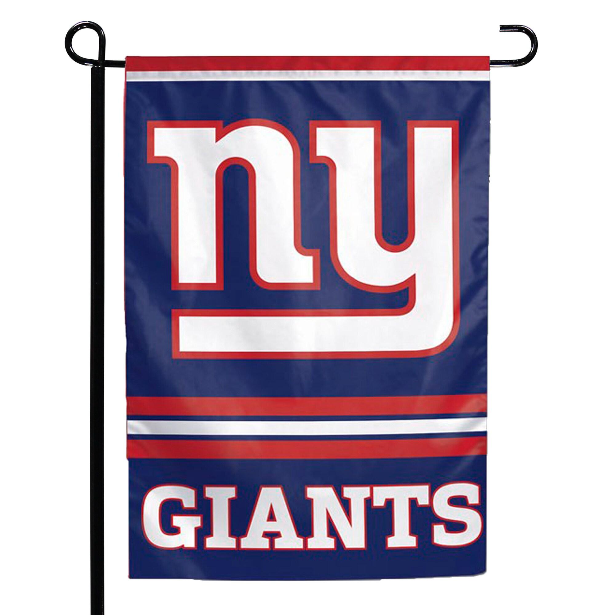 "New York Giants WinCraft 12"" x 18"" Double-Sided Garden Flag"