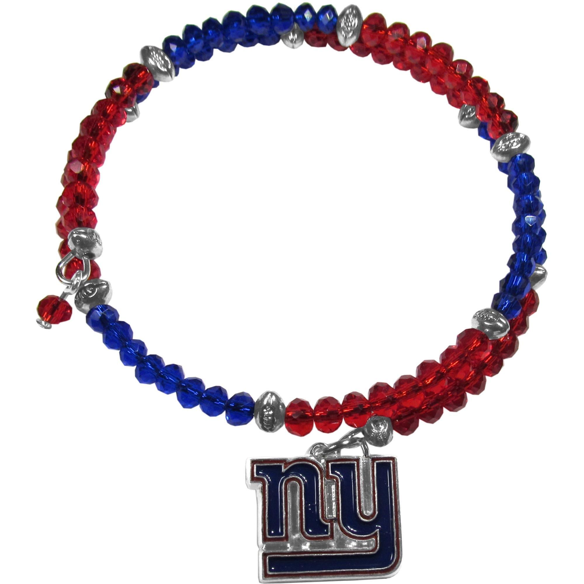 New York Giants Women's 400 Degrees Crystal Bracelet
