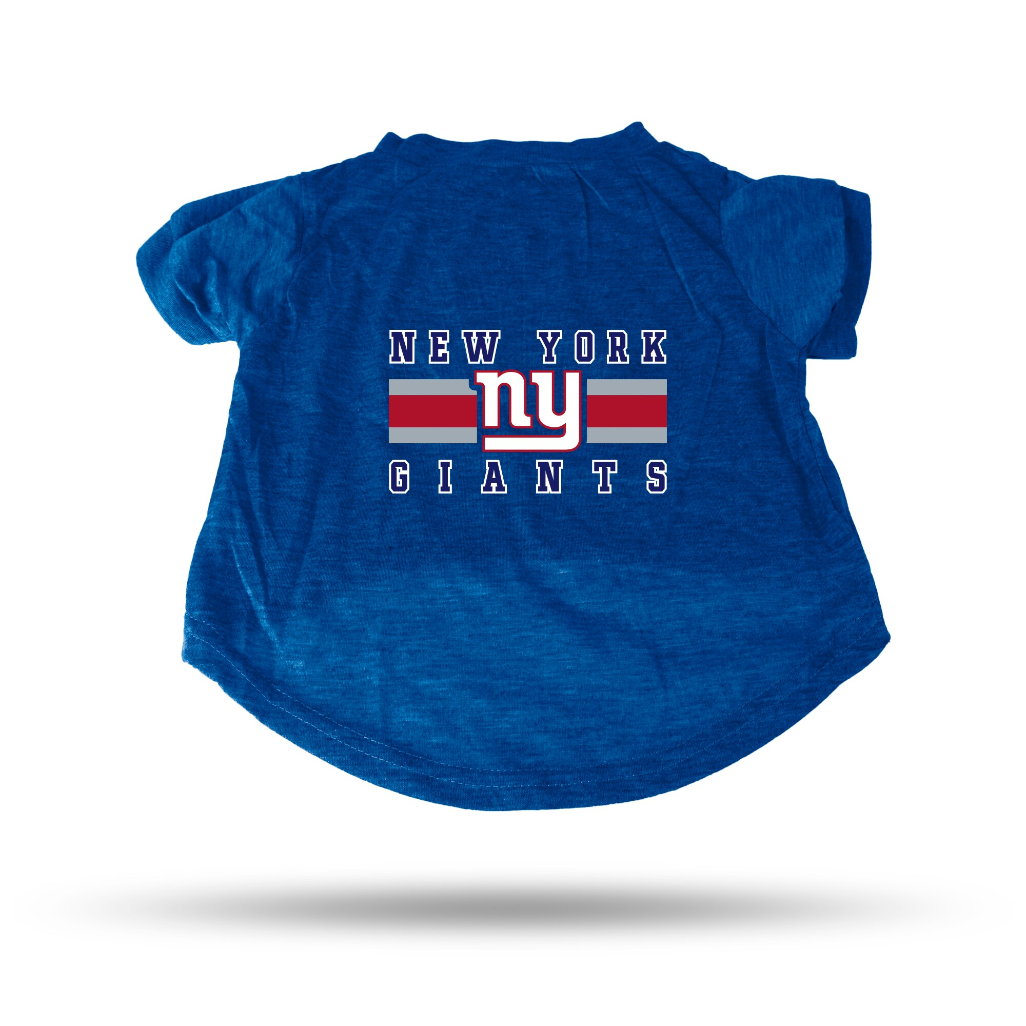 New York Giants Sparo Pet T-Shirt - Blue