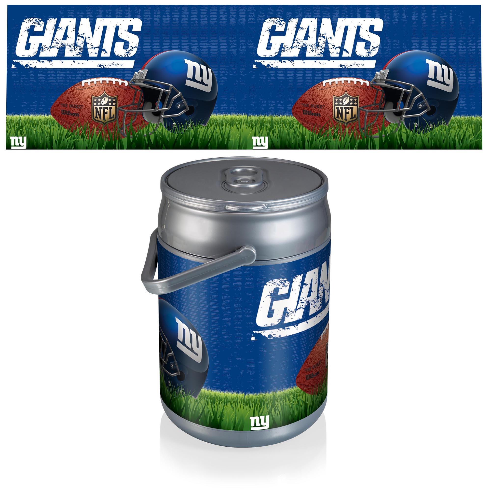 New York Giants Diagonal Can Cooler