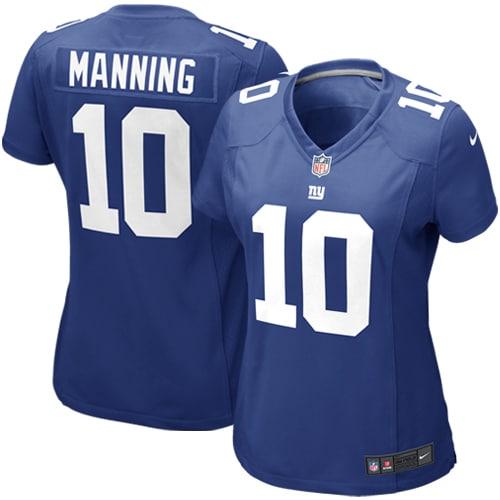 Eli Manning New York Giants Nike Women's Game Jersey - Royal Blue