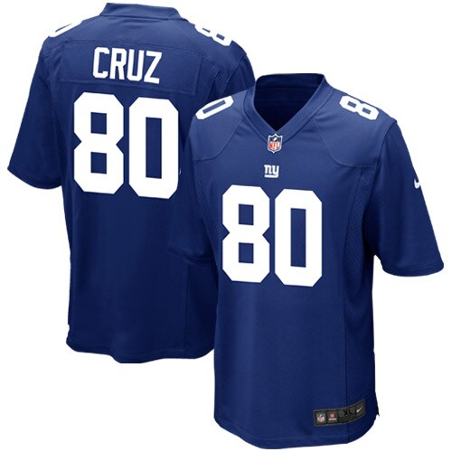 Victor Cruz New York Giants Nike Youth Team Color Game Jersey - Royal Blue