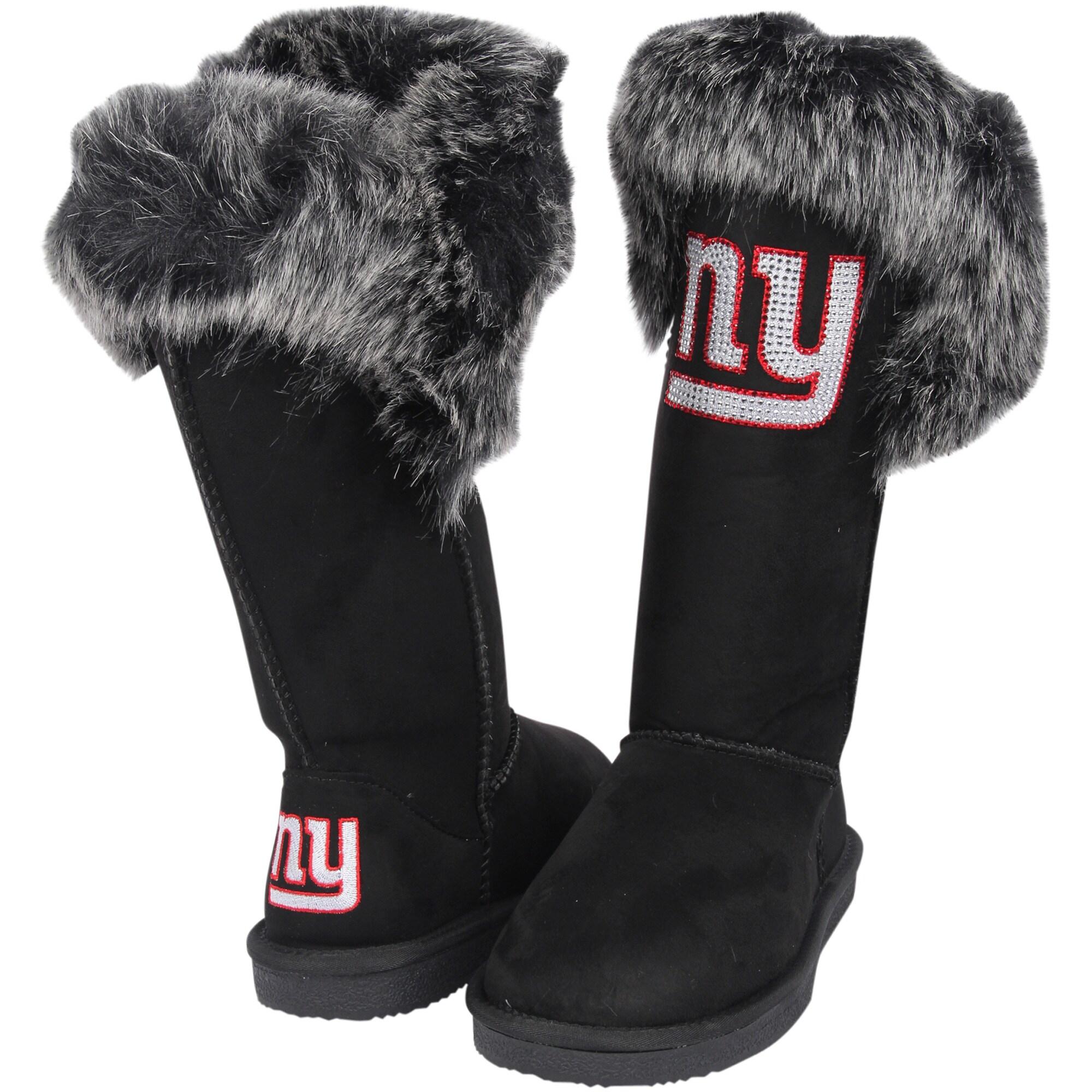 New York Giants Cuce Women's Devoted Boots - Black