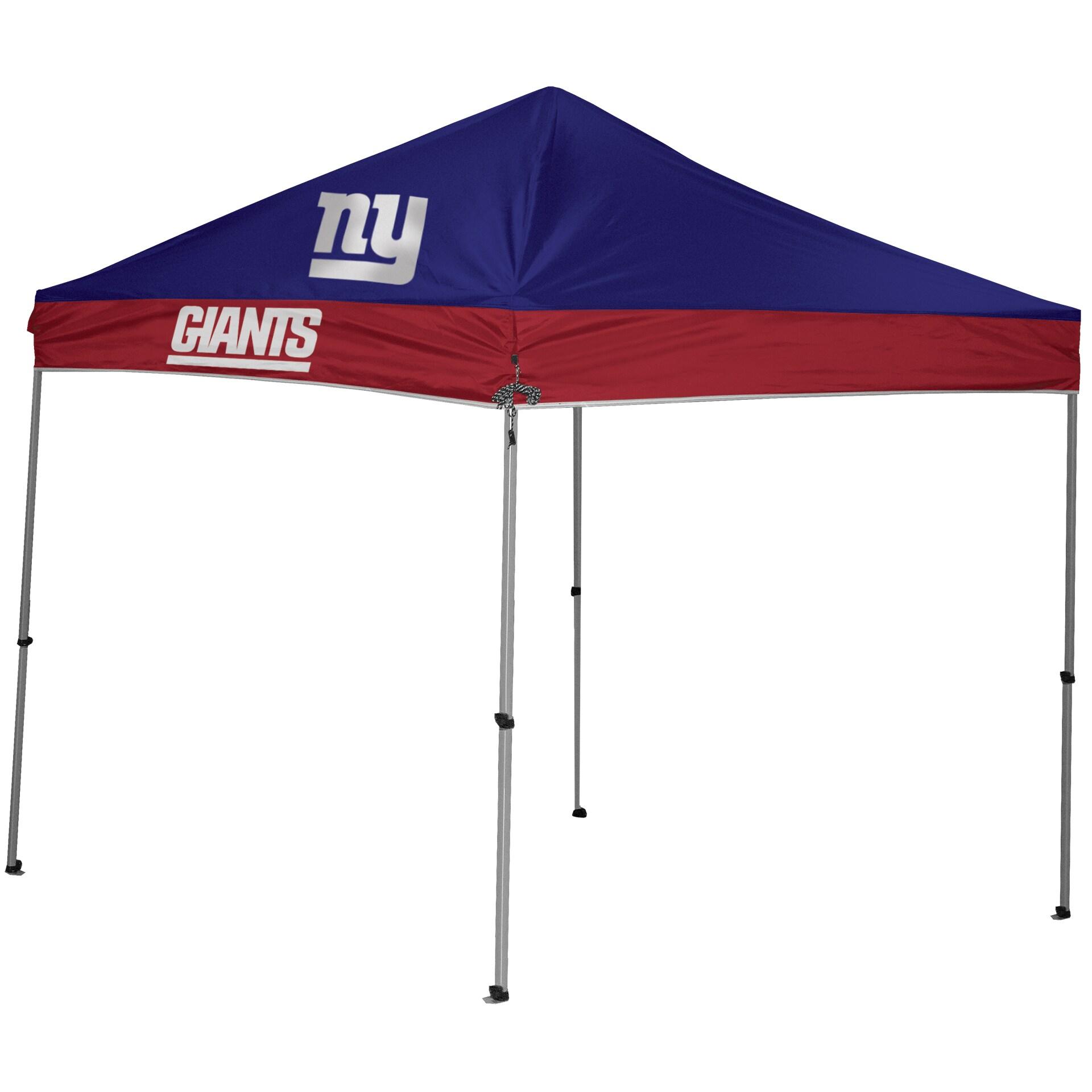 New York Giants 9' x 9' 2-Tone Straight Leg Canopy Tent