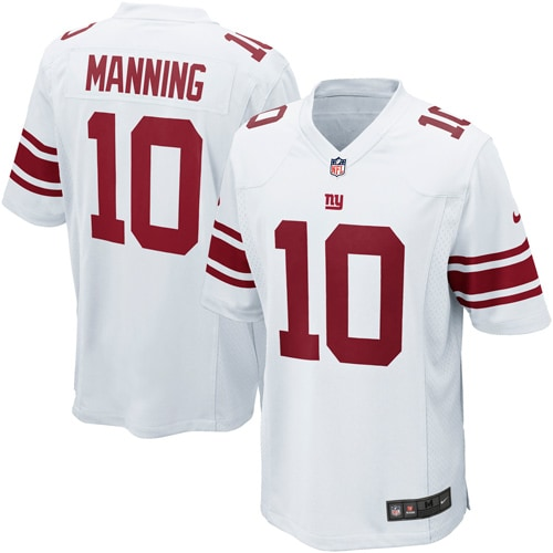 Eli Manning New York Giants Nike Youth Game Jersey - White