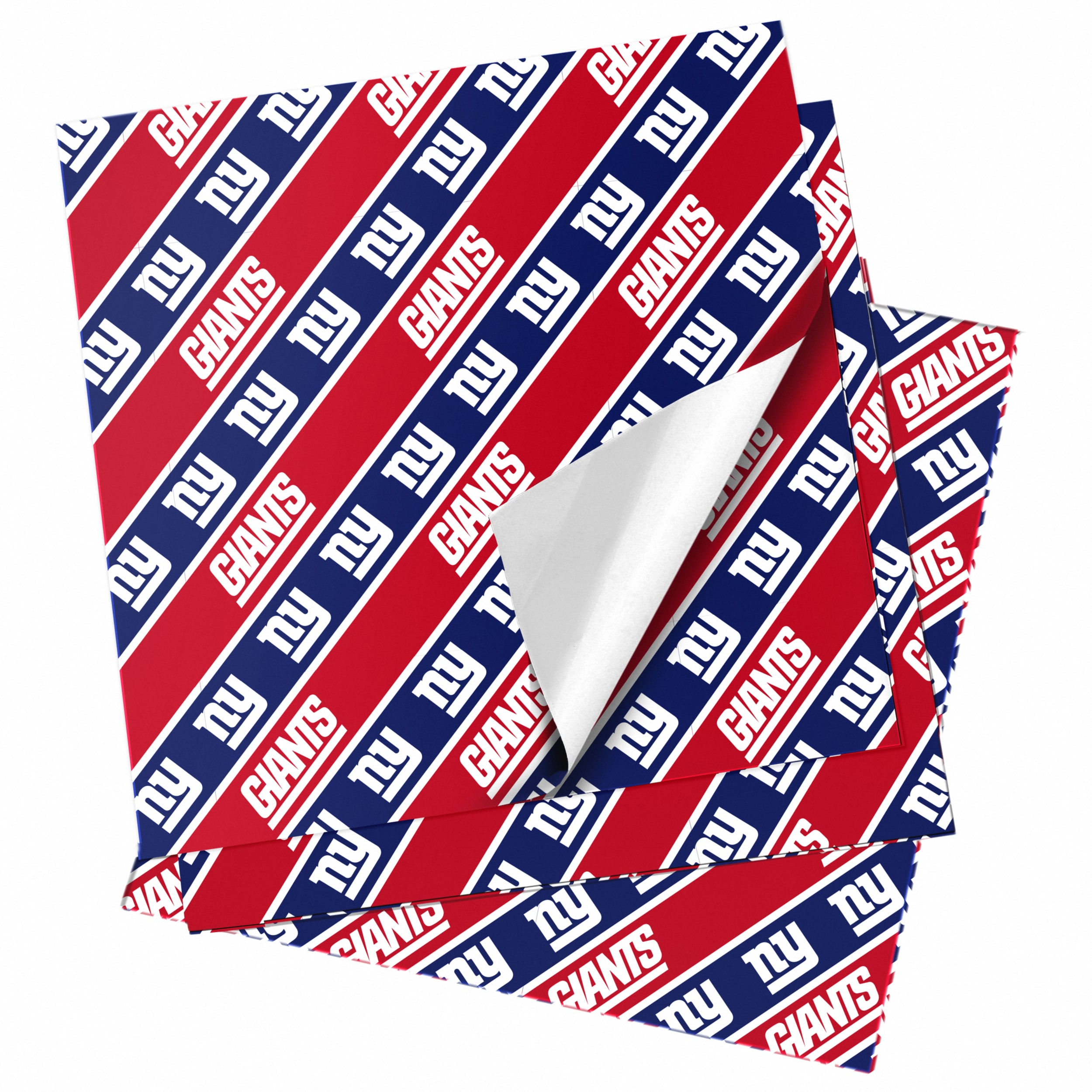 """New York Giants 20"""" x 30"""" Wrapping Paper"""