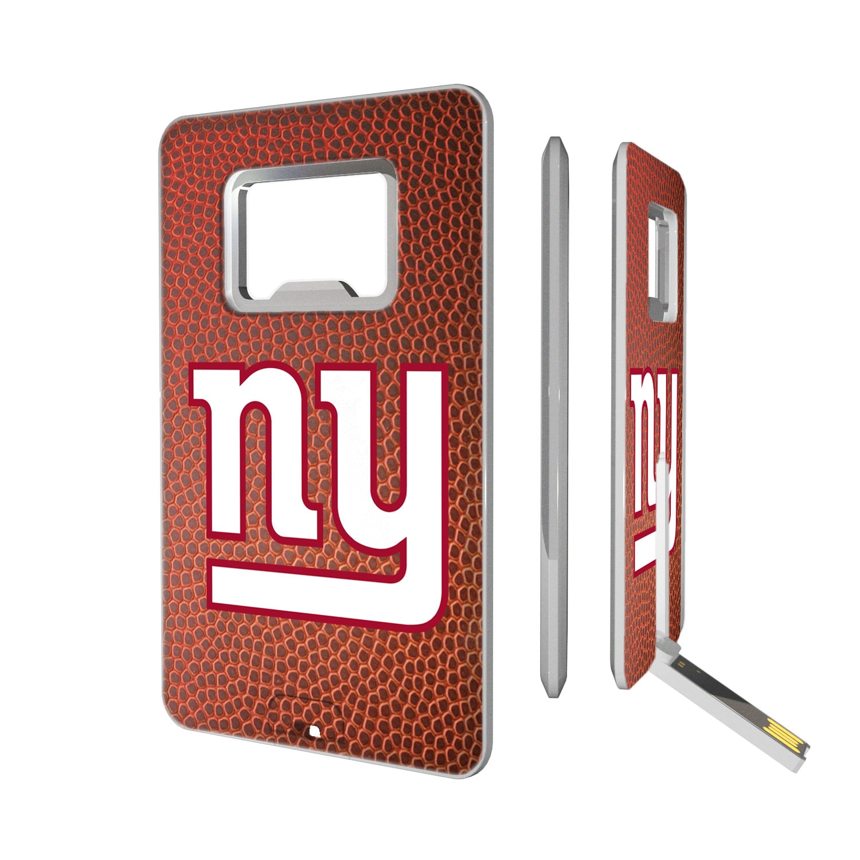 New York Giants Football Credit Card USB Drive & Bottle Opener