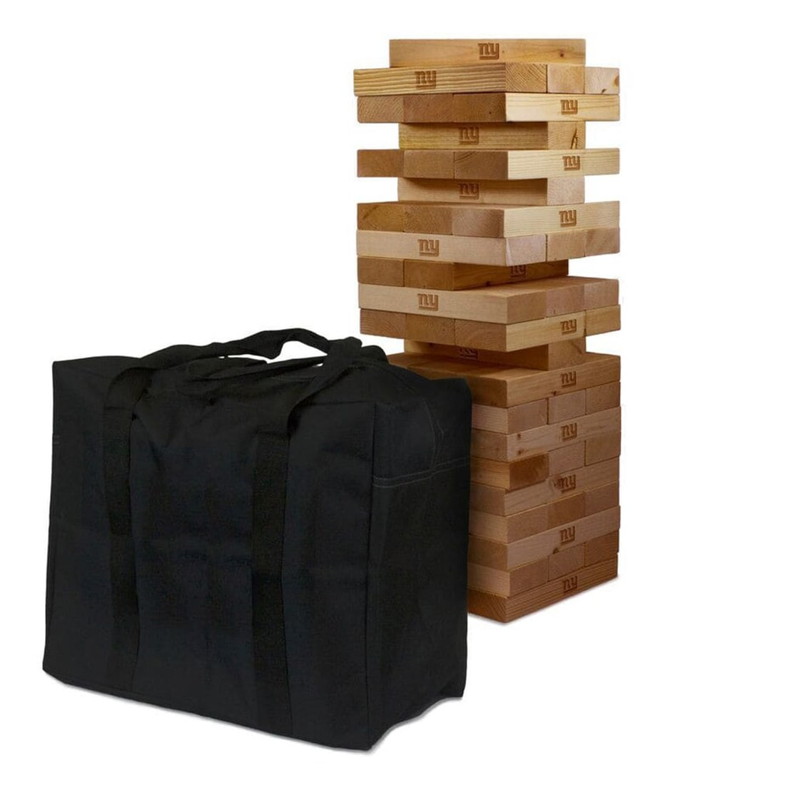 New York Giants Giant Wooden Tumble Tower Game