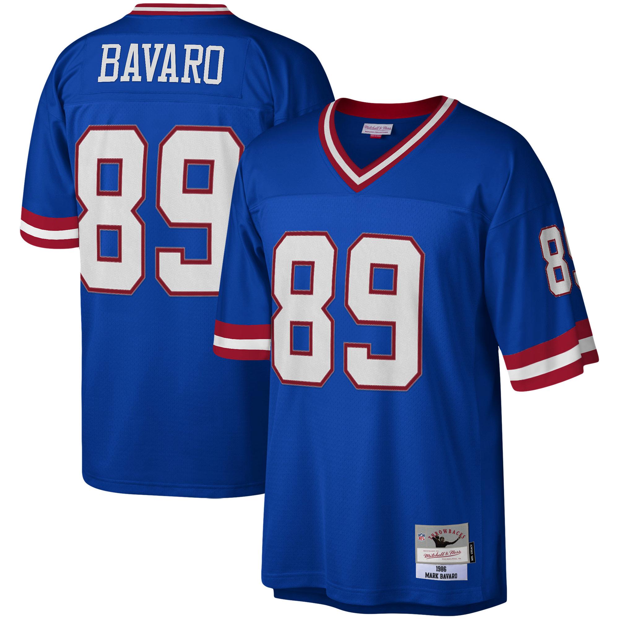 Mark Bavaro New York Giants Mitchell & Ness Legacy Replica Jersey - Royal
