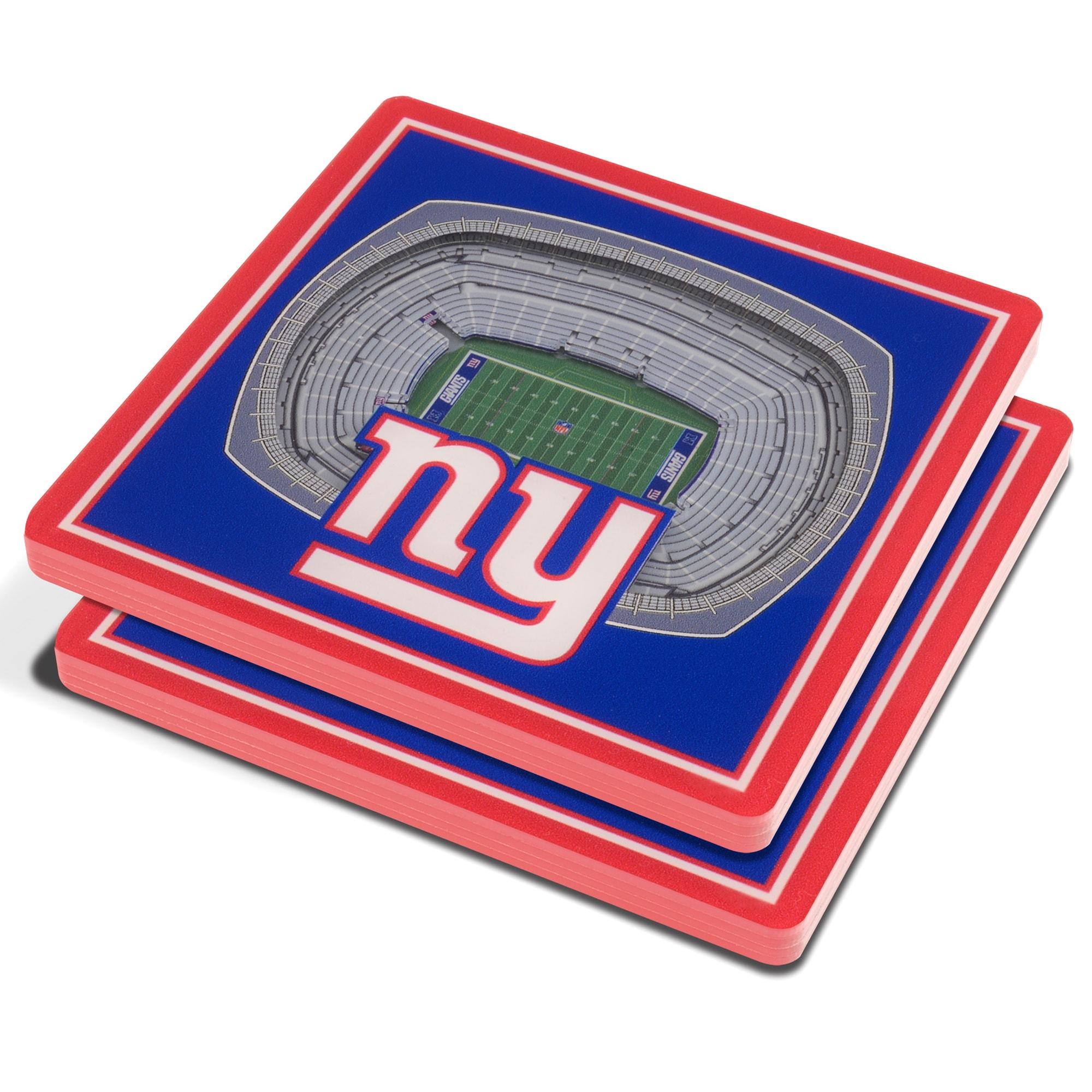 New York Giants 3D StadiumViews Coasters - Blue