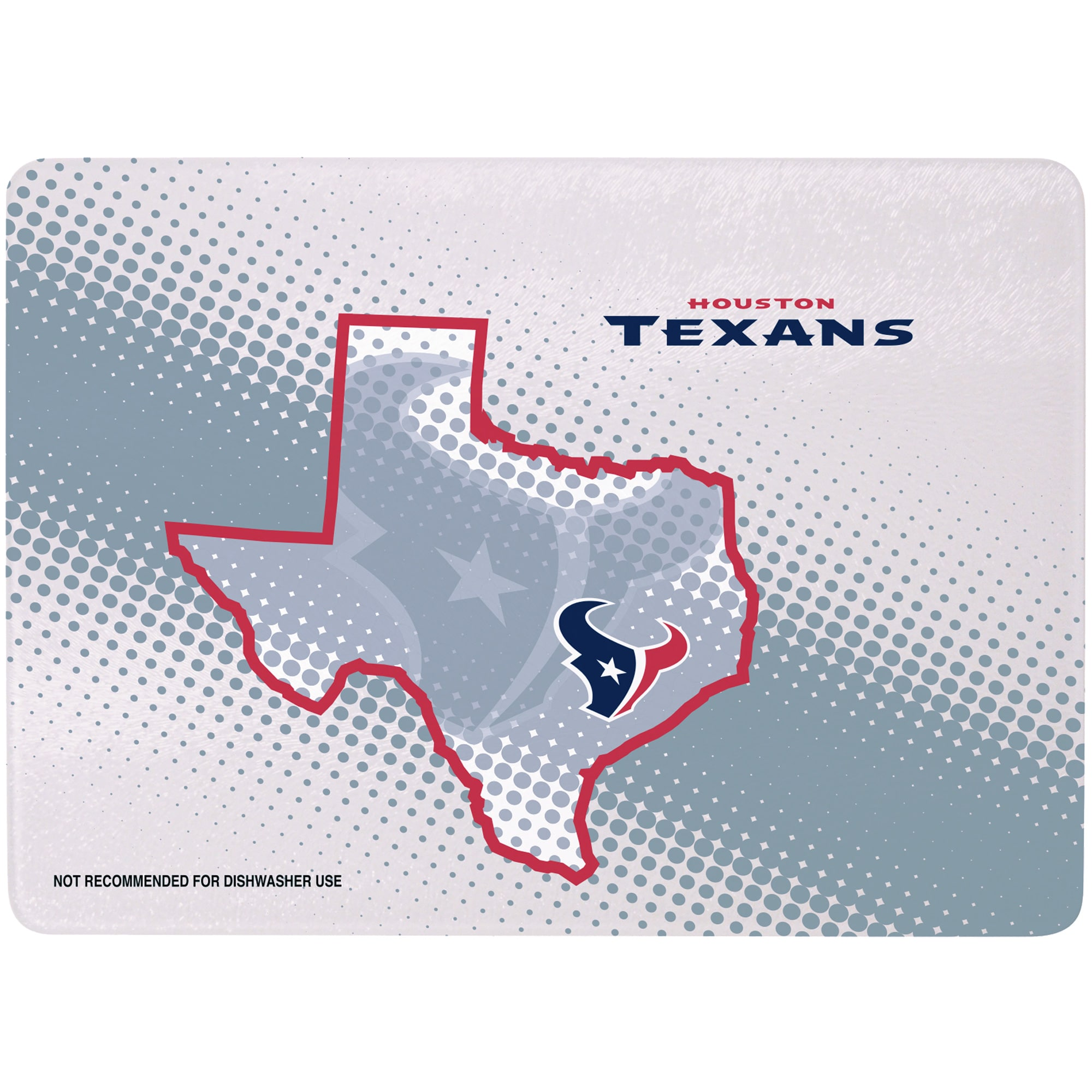 """Houston Texans 8"""" x 11.75"""" State of Mind Cutting board"""