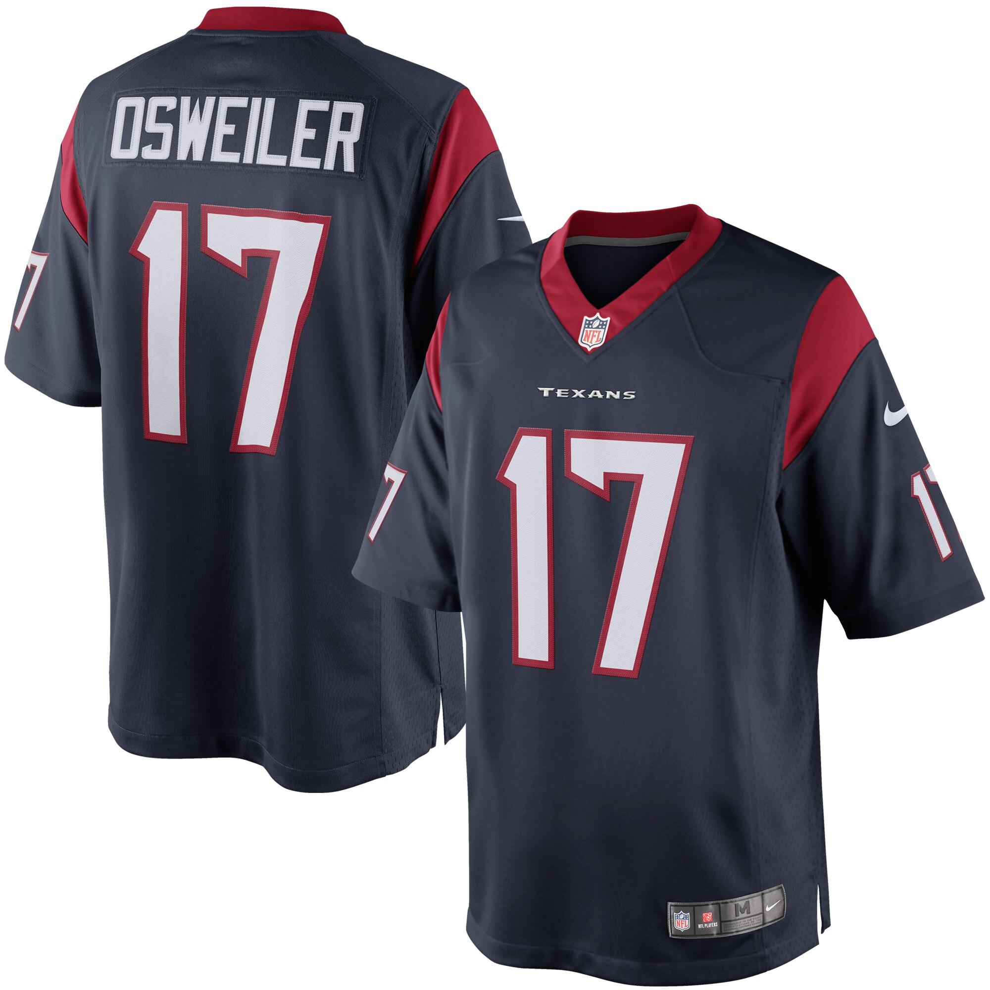 Brock Osweiler Houston Texans Nike Limited Jersey - Navy