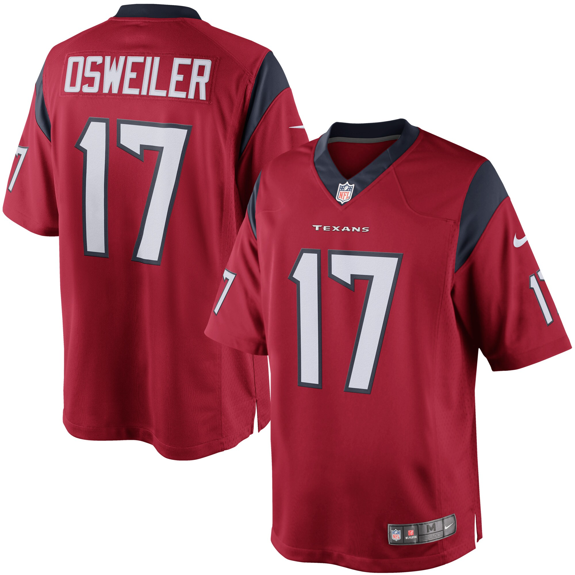 Brock Osweiler Houston Texans Nike Limited Jersey - Red